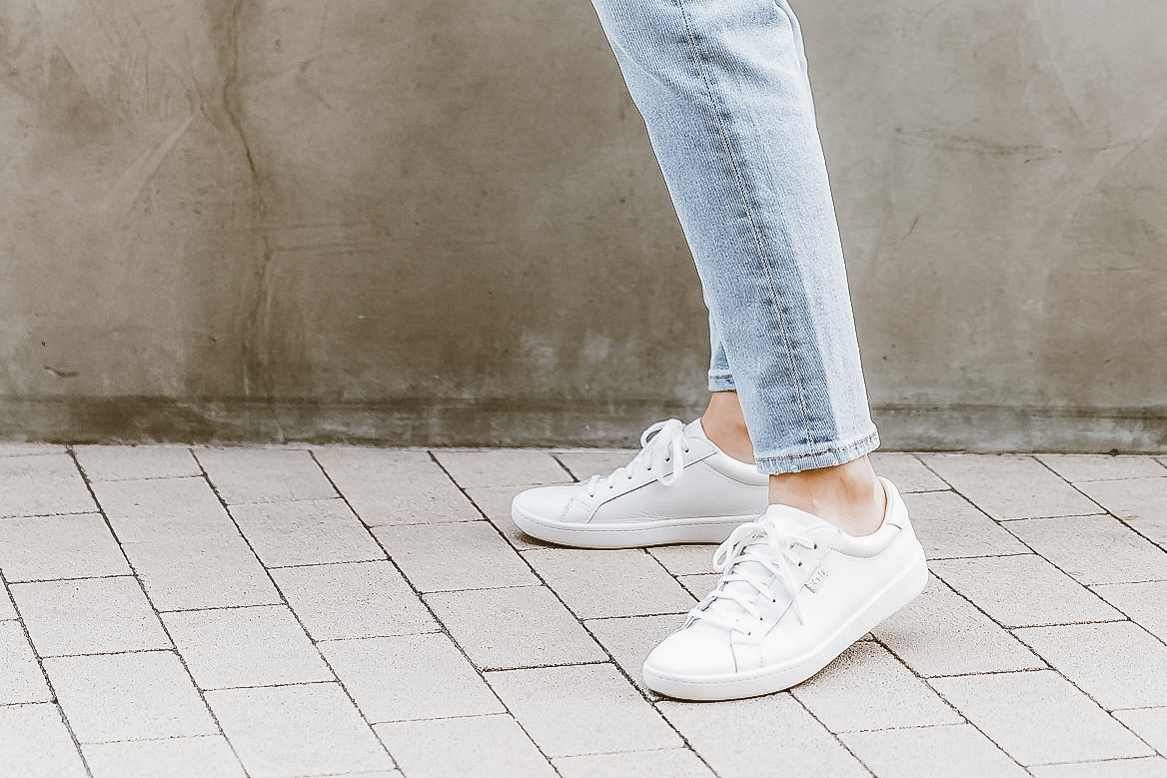 Keds Ace White Leather Sneakers