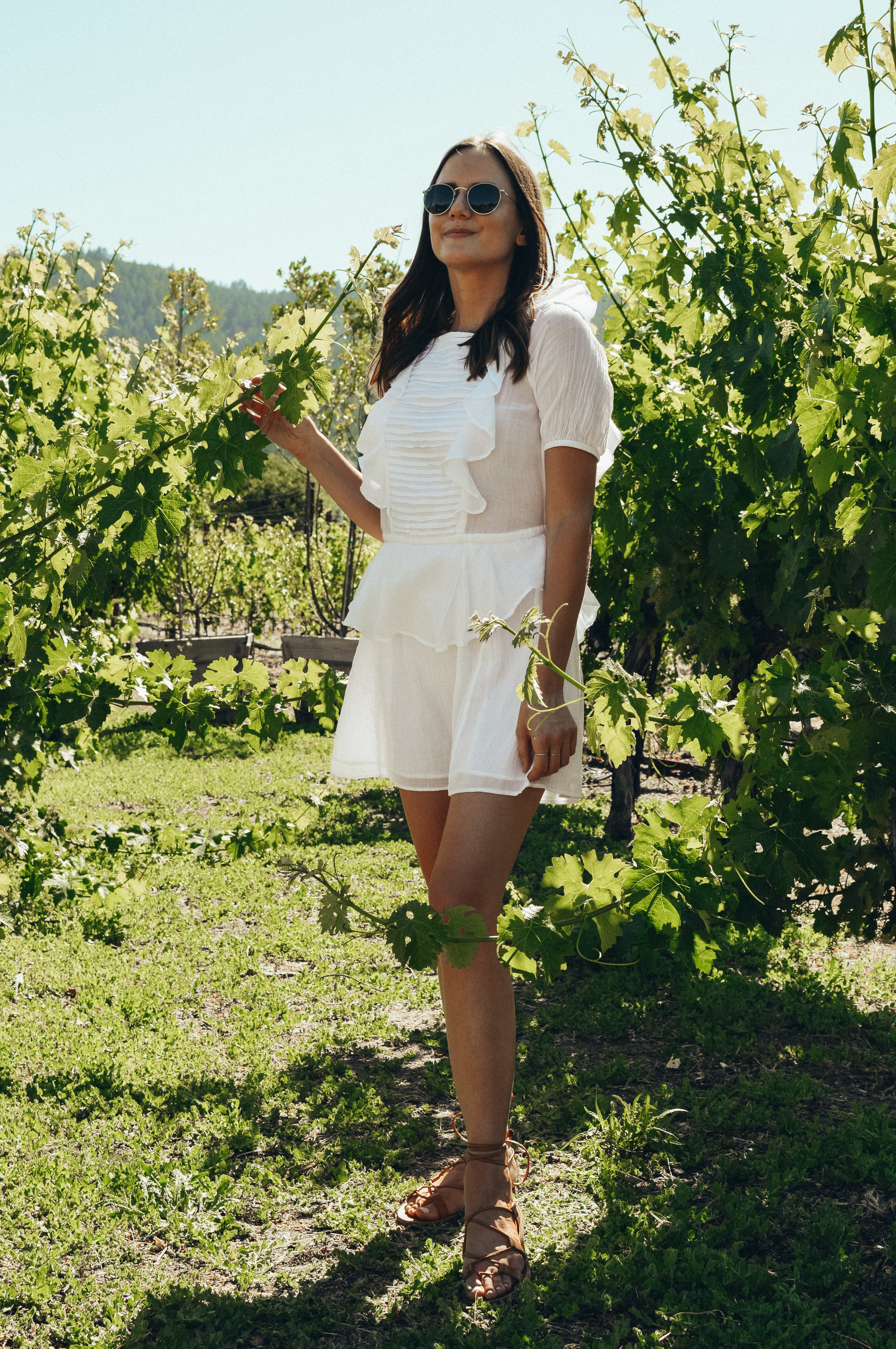 napa outfit wine tasting