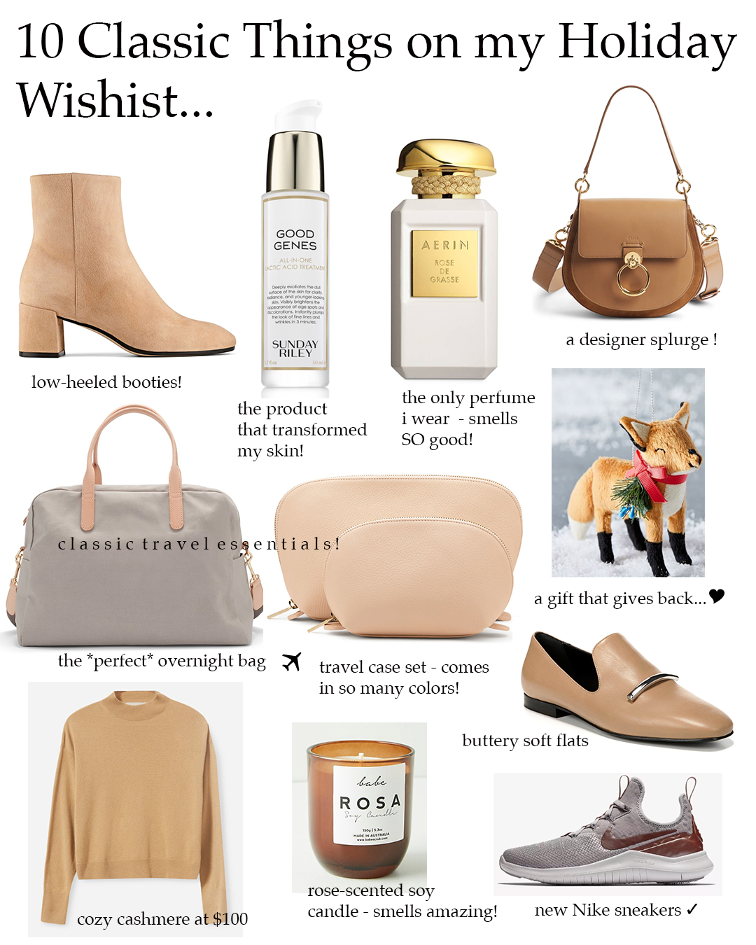 classic holiday gift ideas for her