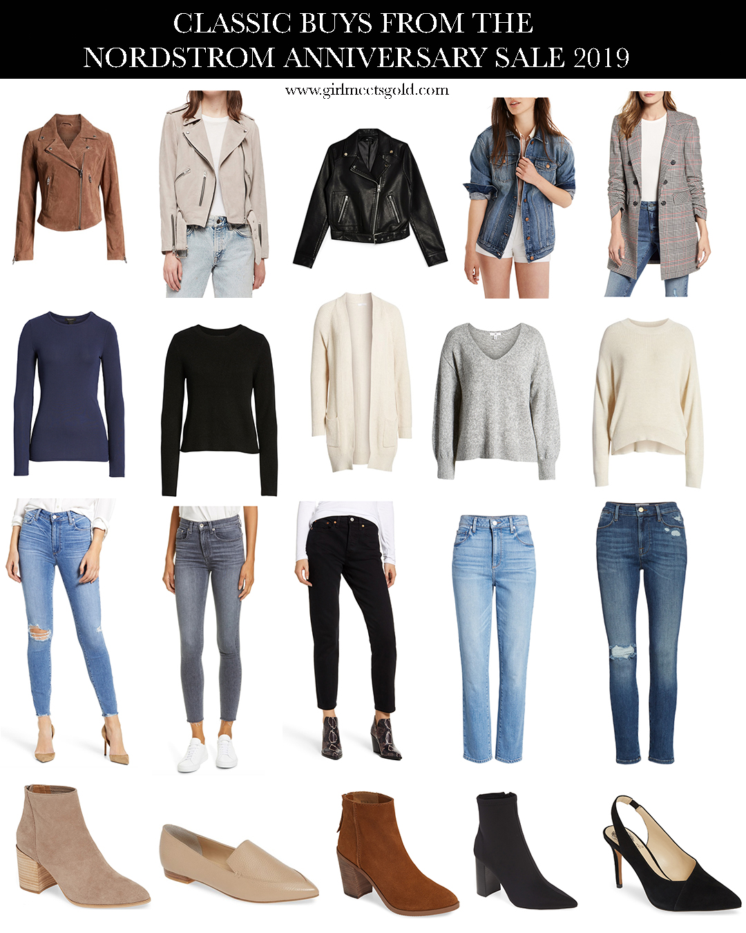 Classic Buys & Favorites From The Nordstrom Anniversary Sale 2019 | www.girlmeetsgold.com