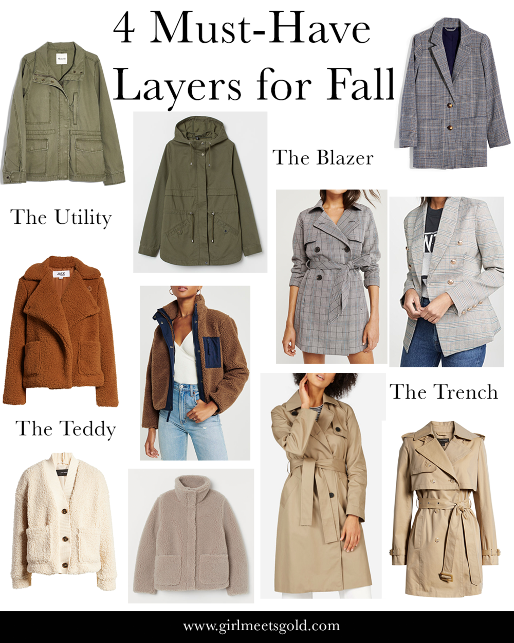4 Must-Have Layers for Fall | www.girlmeetsgold.com