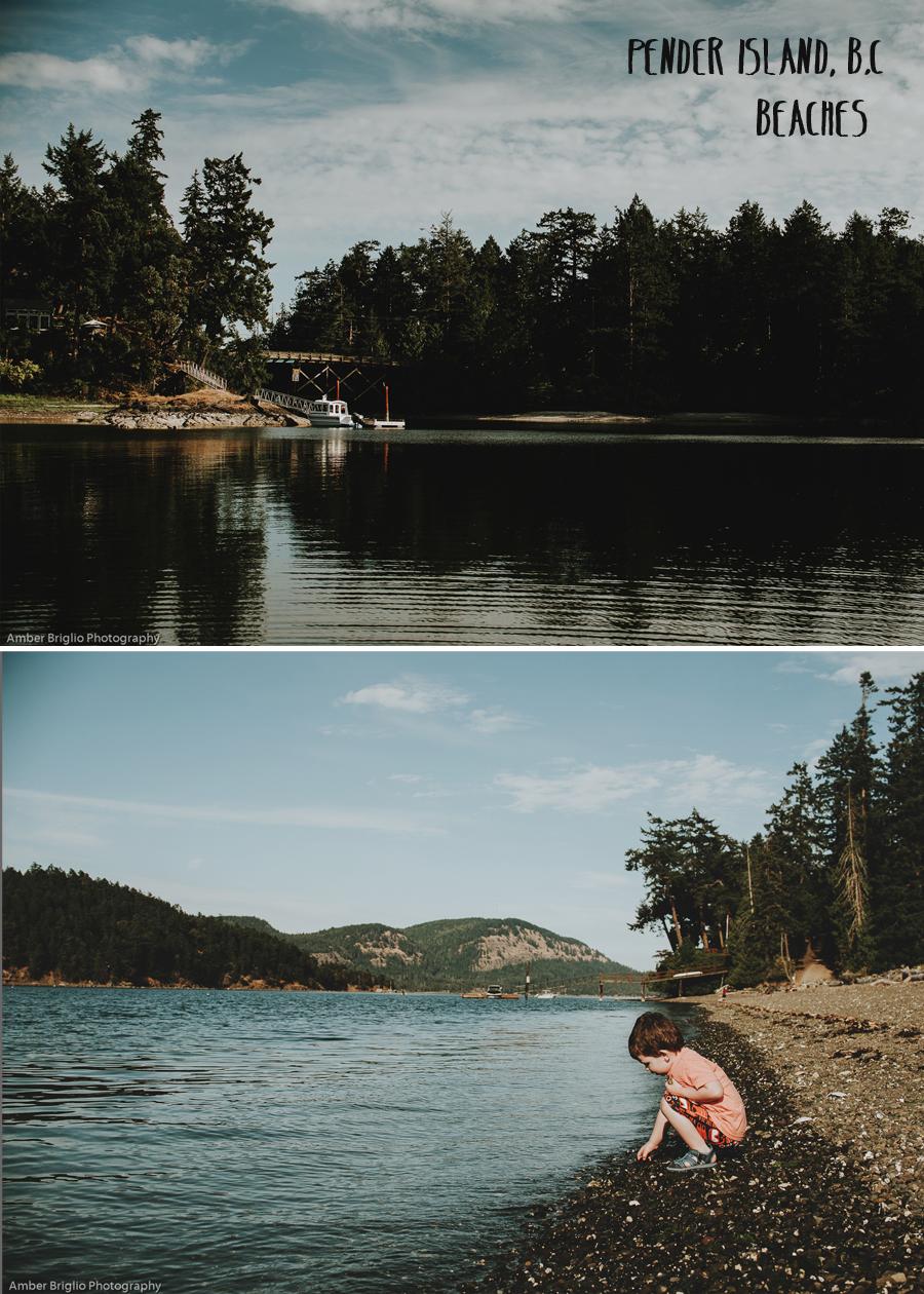 Pender Island beaches - Amber Brilgio Photography