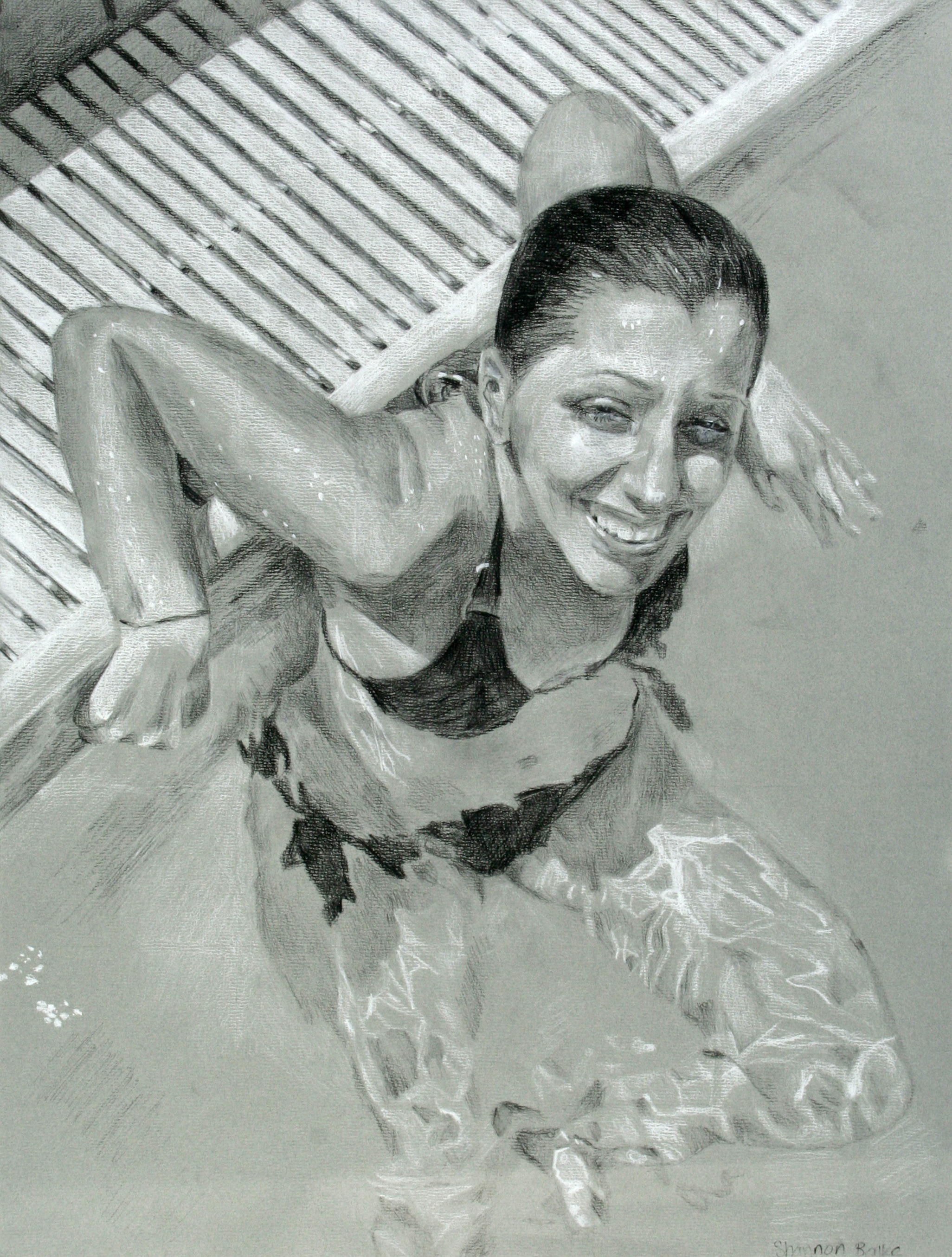 """2008 // Charcoal on paper // 18x24"""""""
