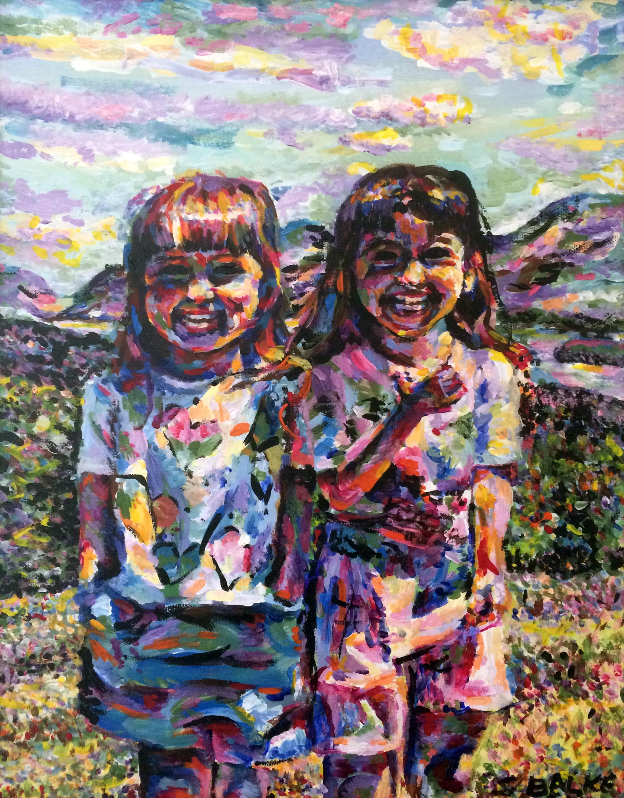 """2005 // Acrylic on canvas // 18x24"""""""