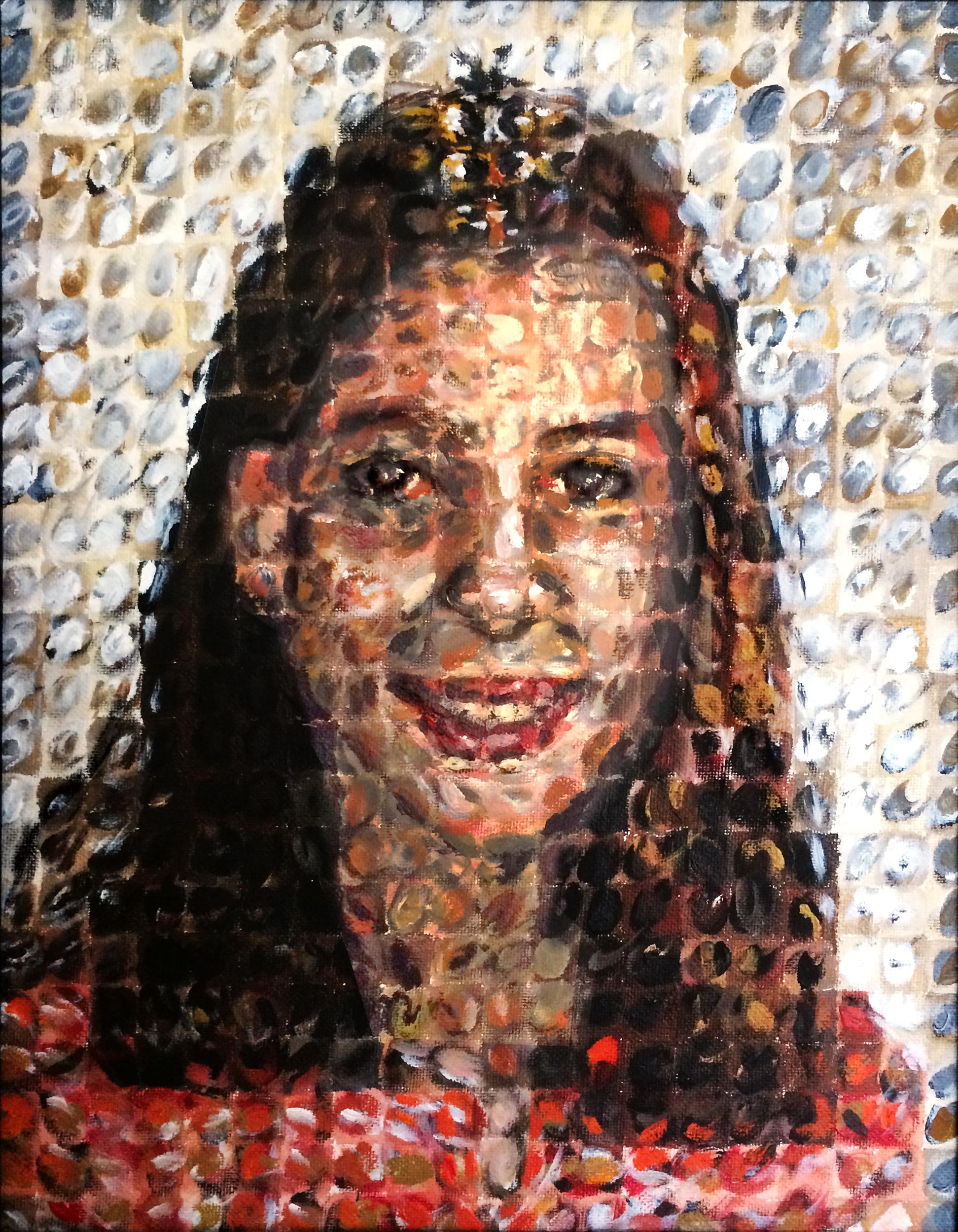 """2002 // Acrylic on canvas // 14x18"""""""