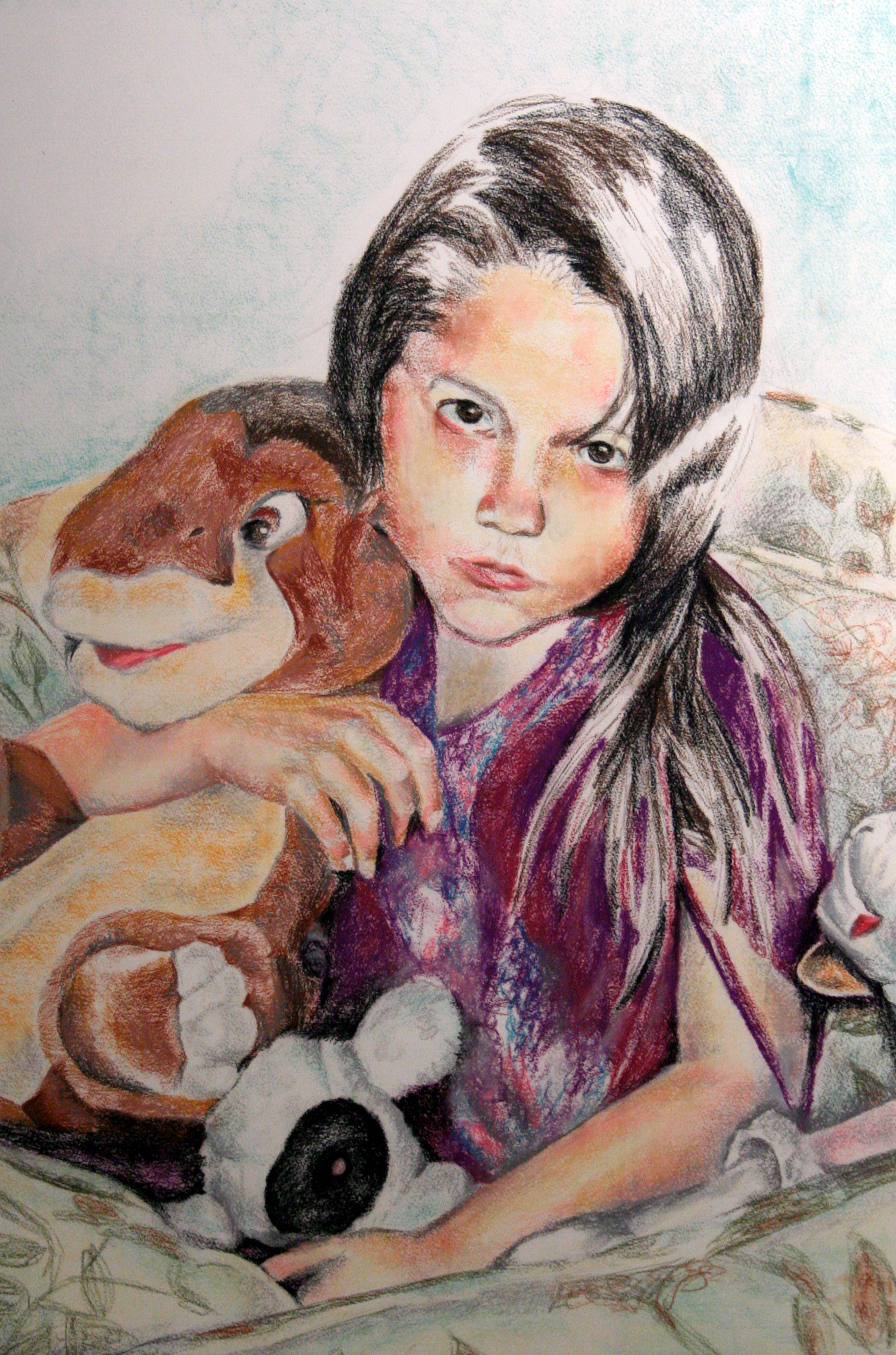 "2008 // Chalk pastel on paper // 24x36"""