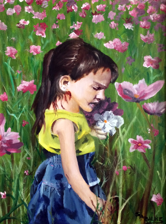 "2001 // Oil on canvas // 18x24"""