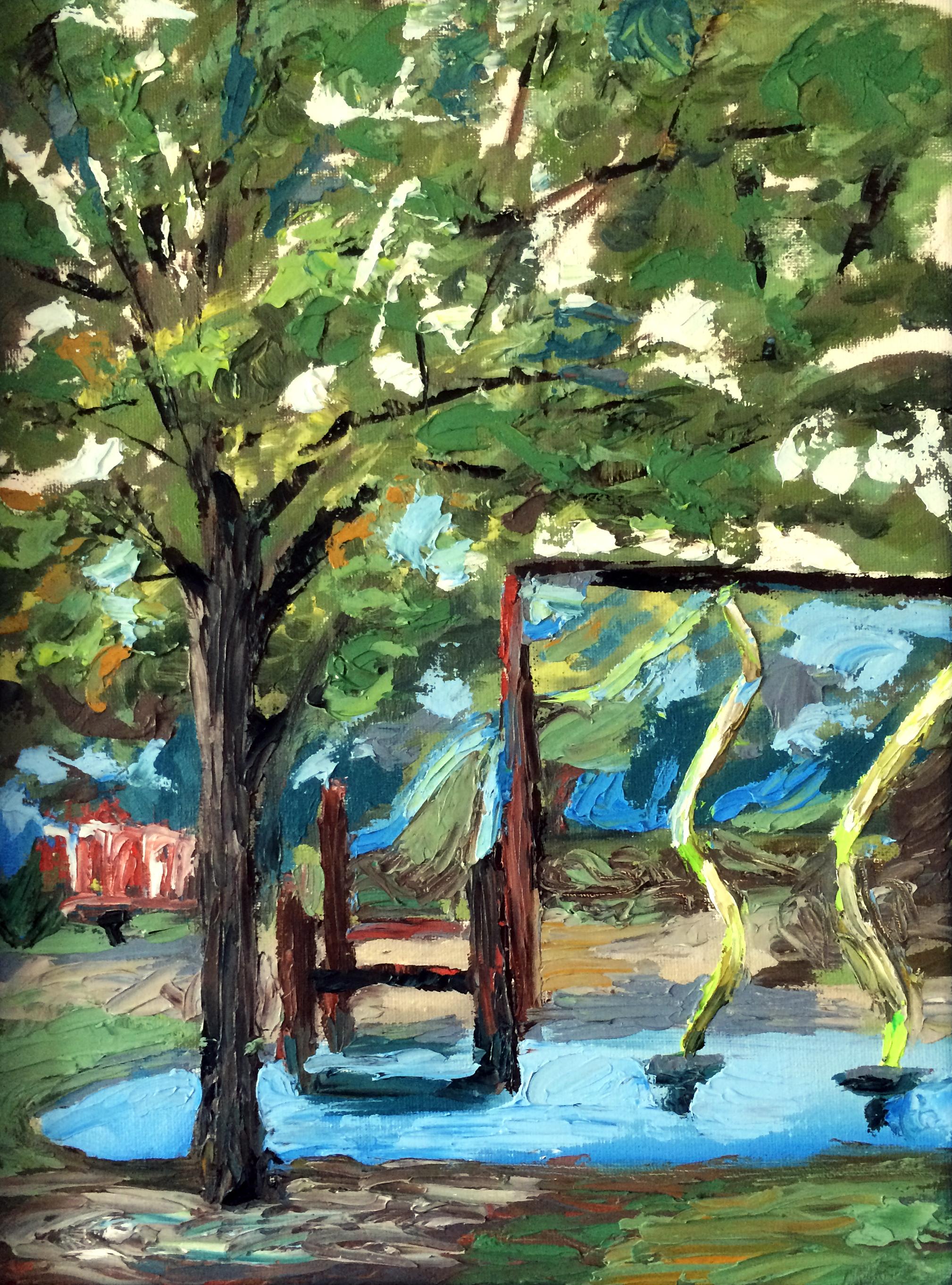 "2010 // Oil on canvas // 14x18"""