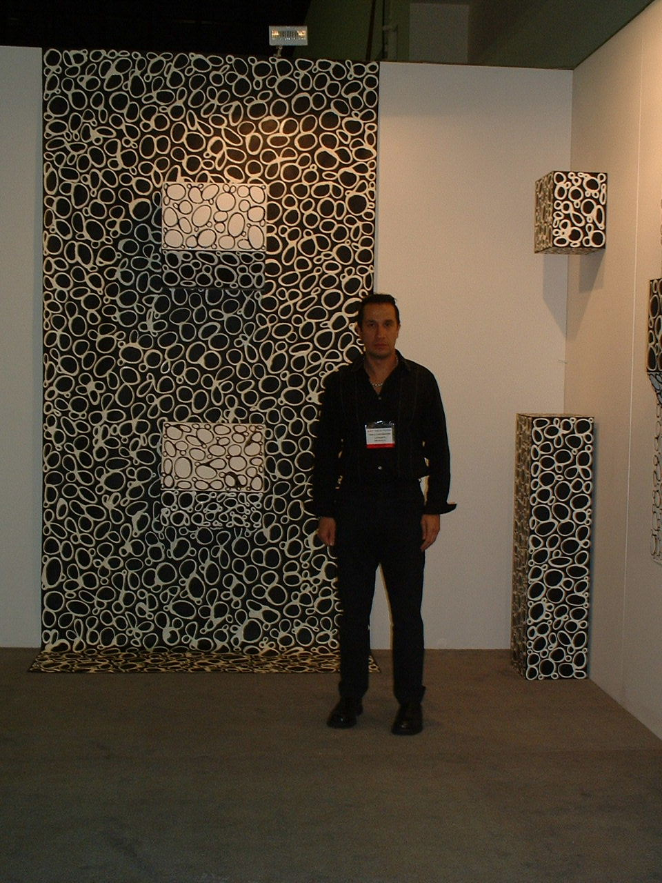 Art New York Art Fair 2004: Ying-Yang. Installation. Dimension variables. 2004