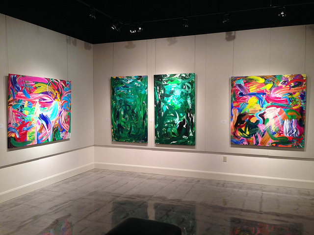 ART EXHIBIT: Figurative & Abstract Painting in Latin American Art