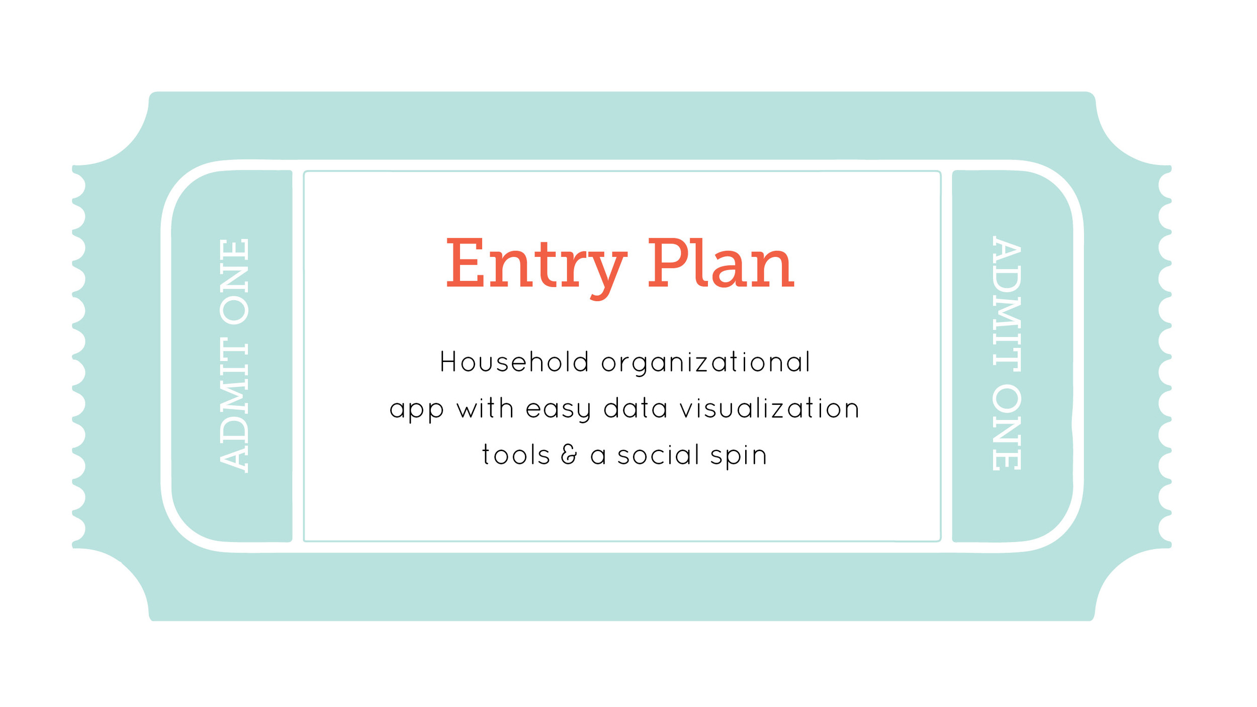 ENTRY PLAN: In short, the concept of Roomr was to help make shared household planning and organization less tedious and muddled by providing easy-to-use visual tools as well as a digital social space for groups to gather, talk and coordinate.
