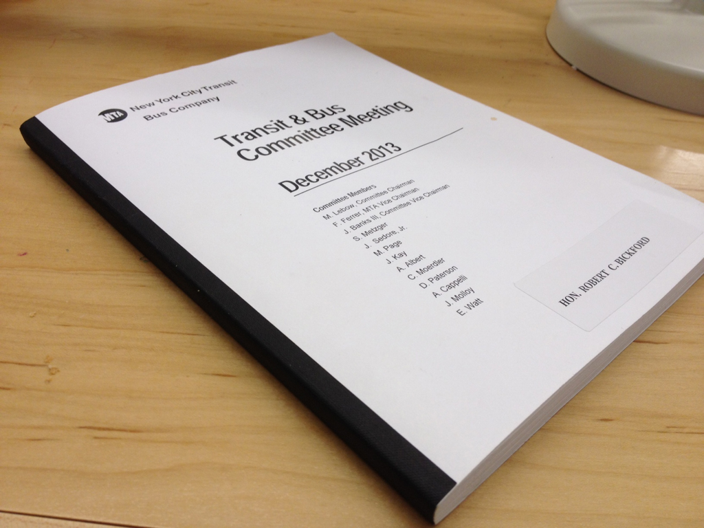 Currently, MTA's monthly data is presented to MTA board members in thick printed report books that are overwhelmingly dense with information and difficult to understand at a glance.  The data is presented in extremely technical and un-relatable terms without any form of hierarchy that could inform readers of relationships between terms.