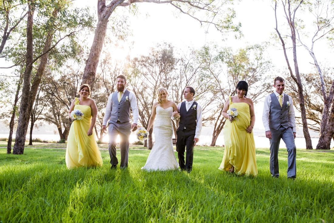 Bridal Party Ascot Quays Perth