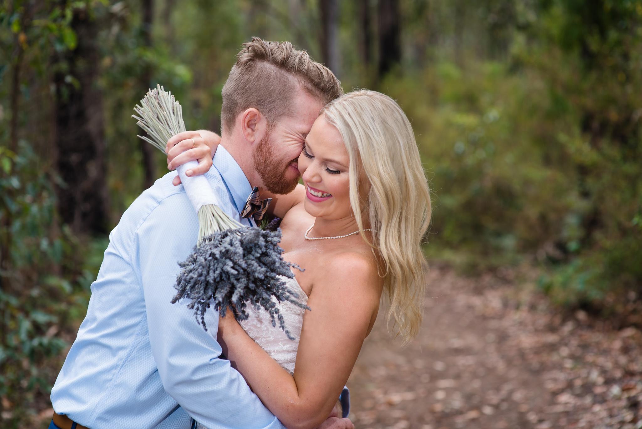 Bride and Groom Nanga Bush Camp Wedding