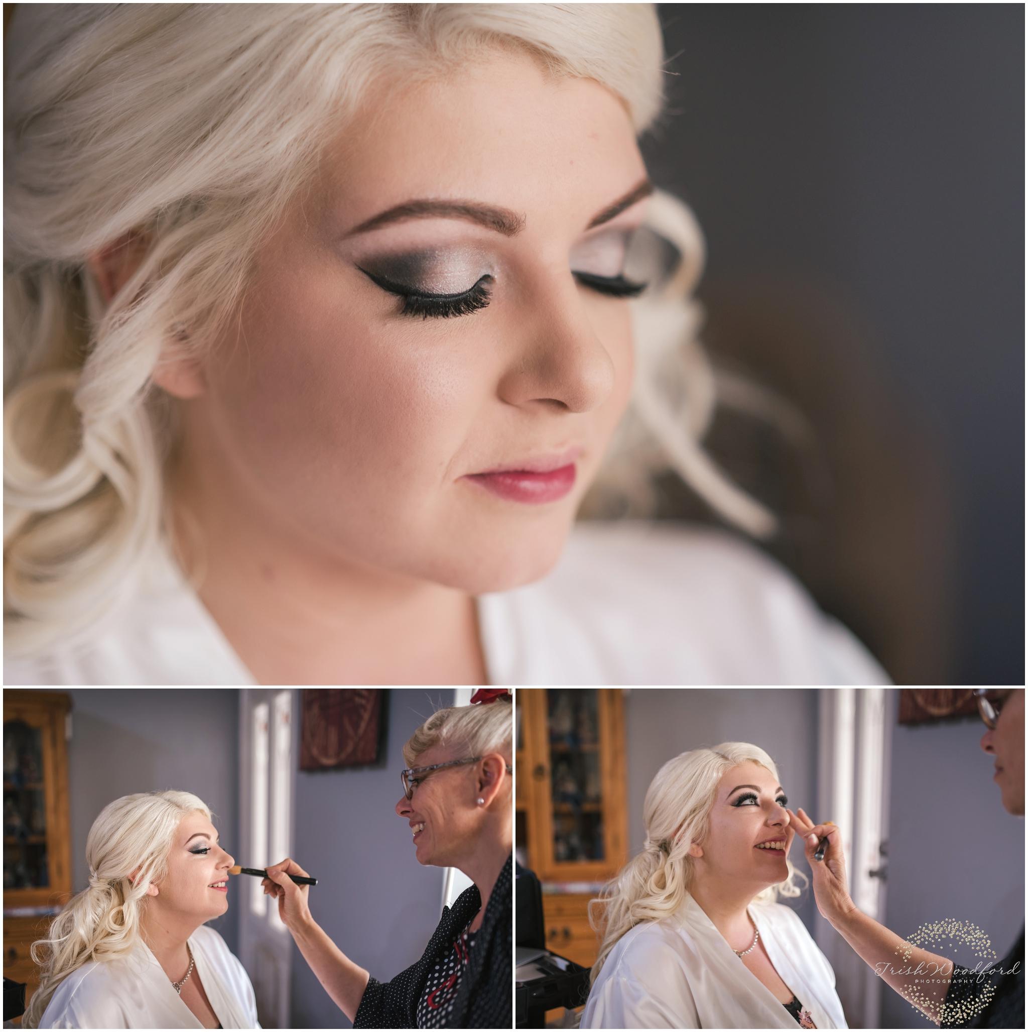 Bridal Makeup Rockingham Wedding