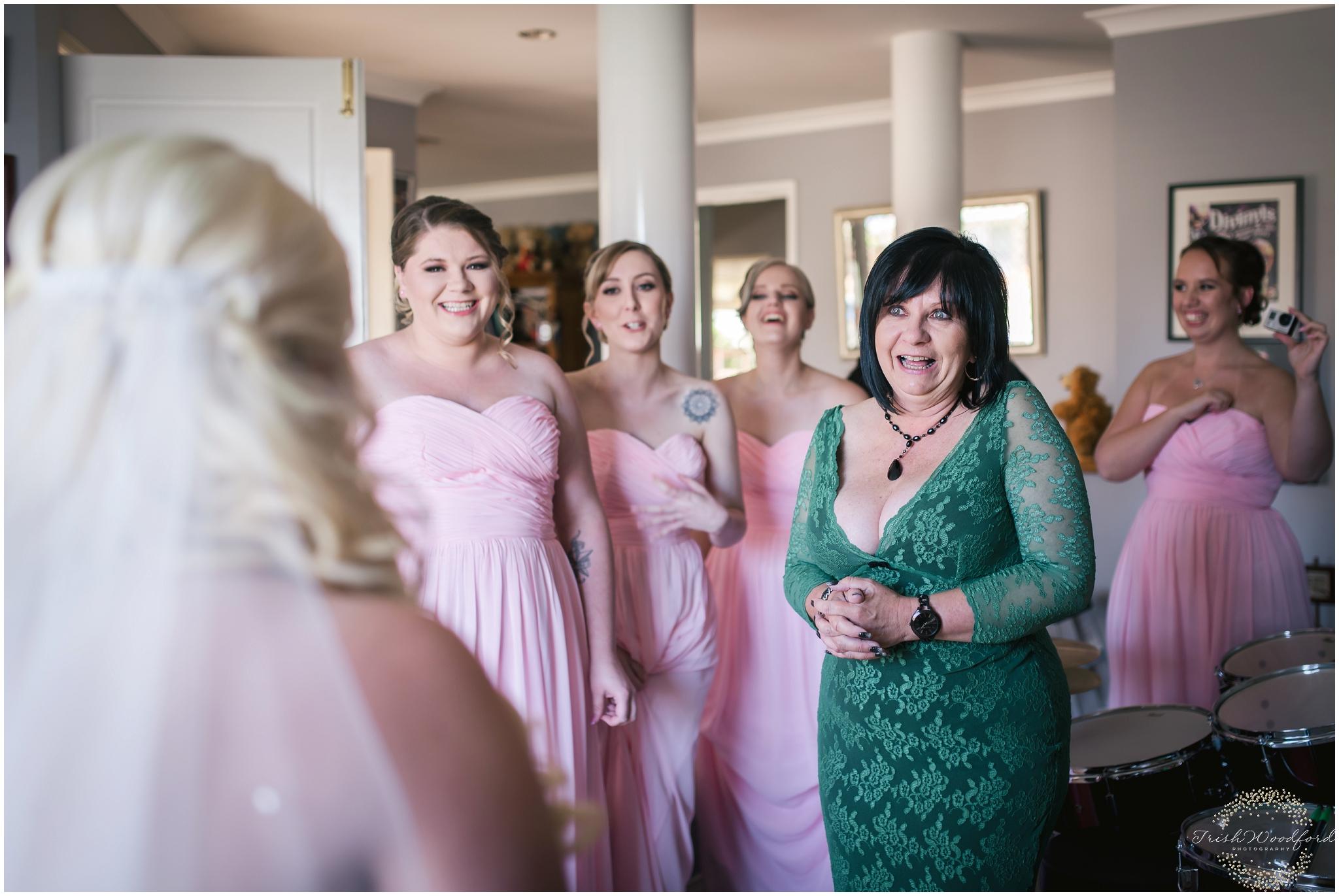 Bride & Mum Getting Ready Rockingham Wedding