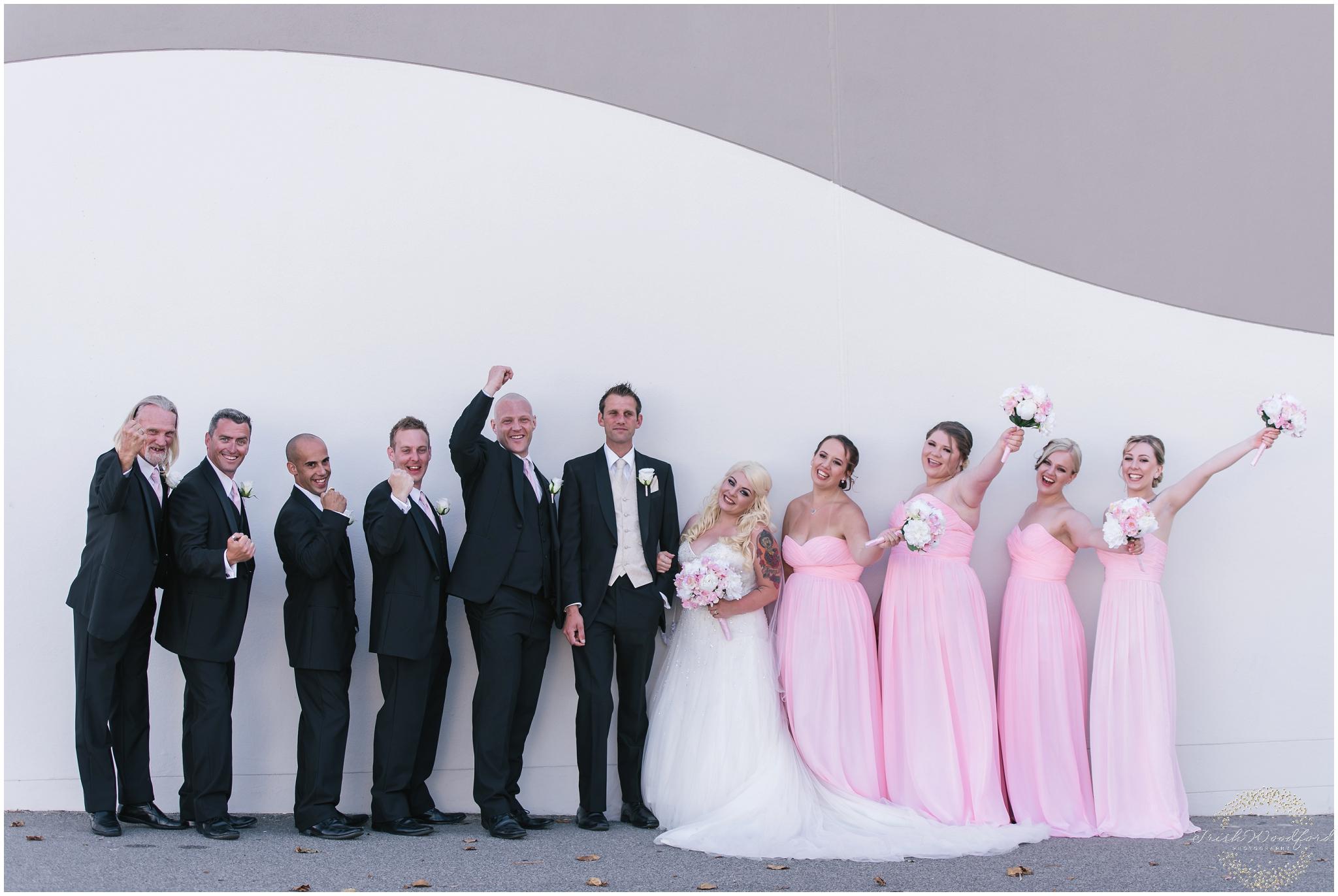 Bridal Party Portrait Rockingham Wedding