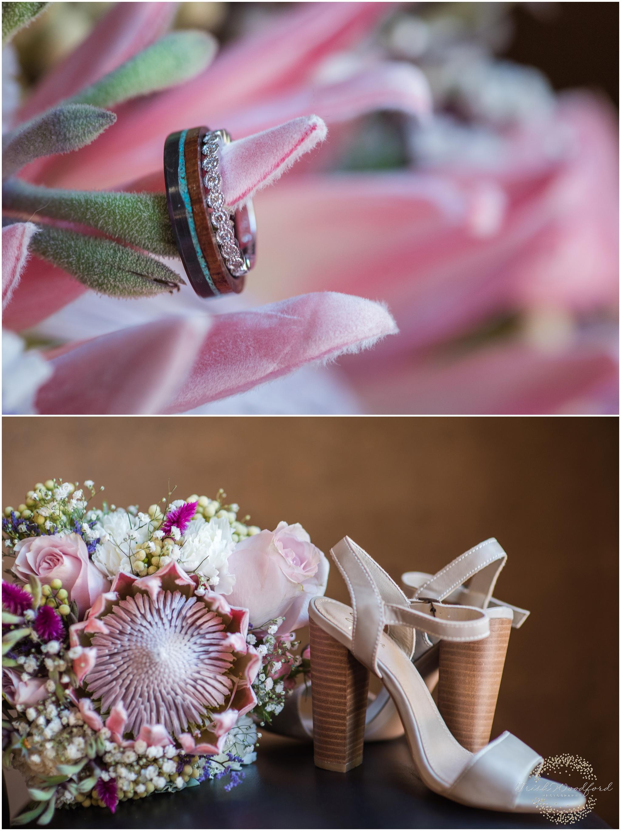 Wedding Ring & Bouquet Margaret River Wedding