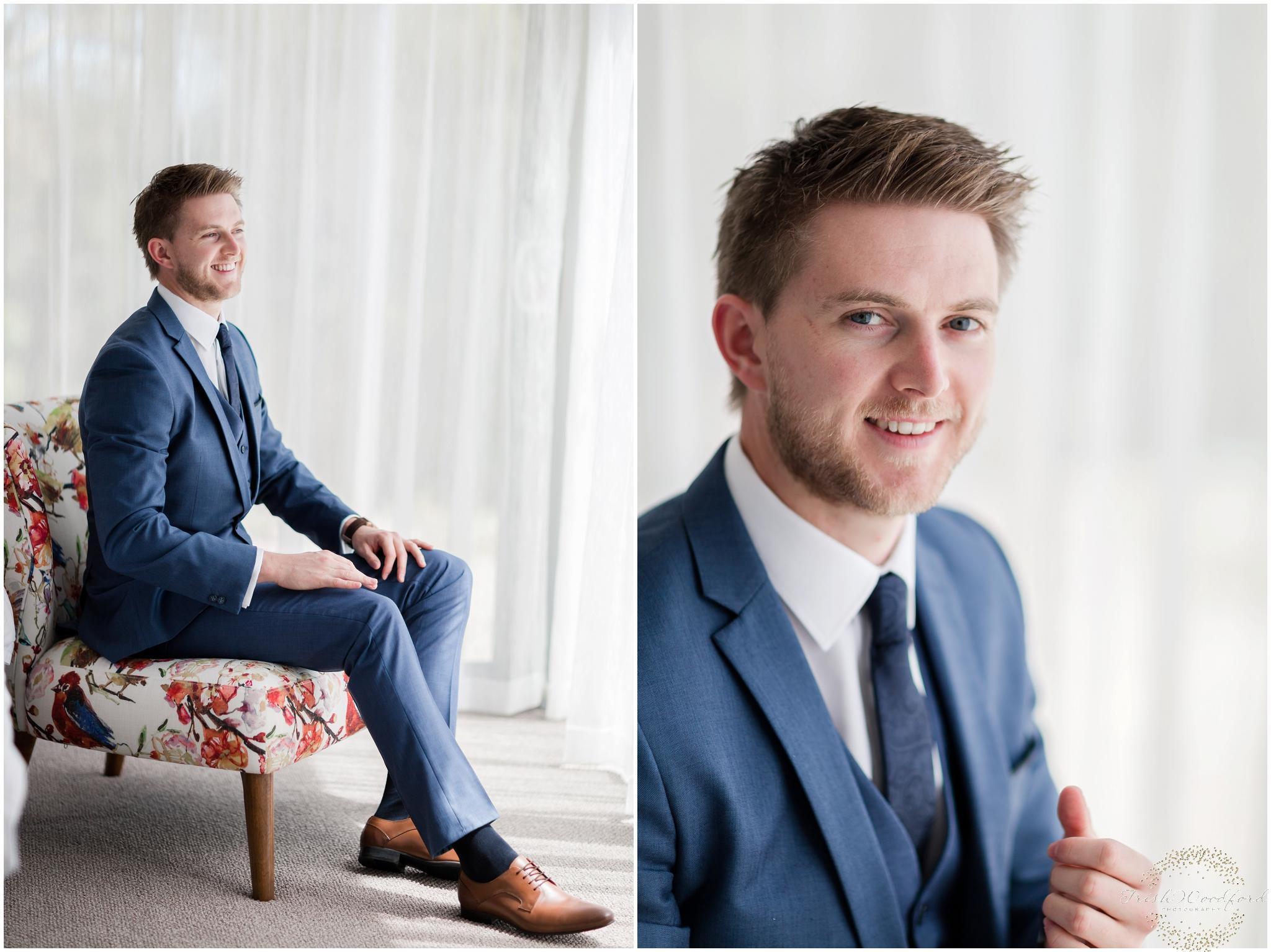 Groom Portraits Margaret River Wedding