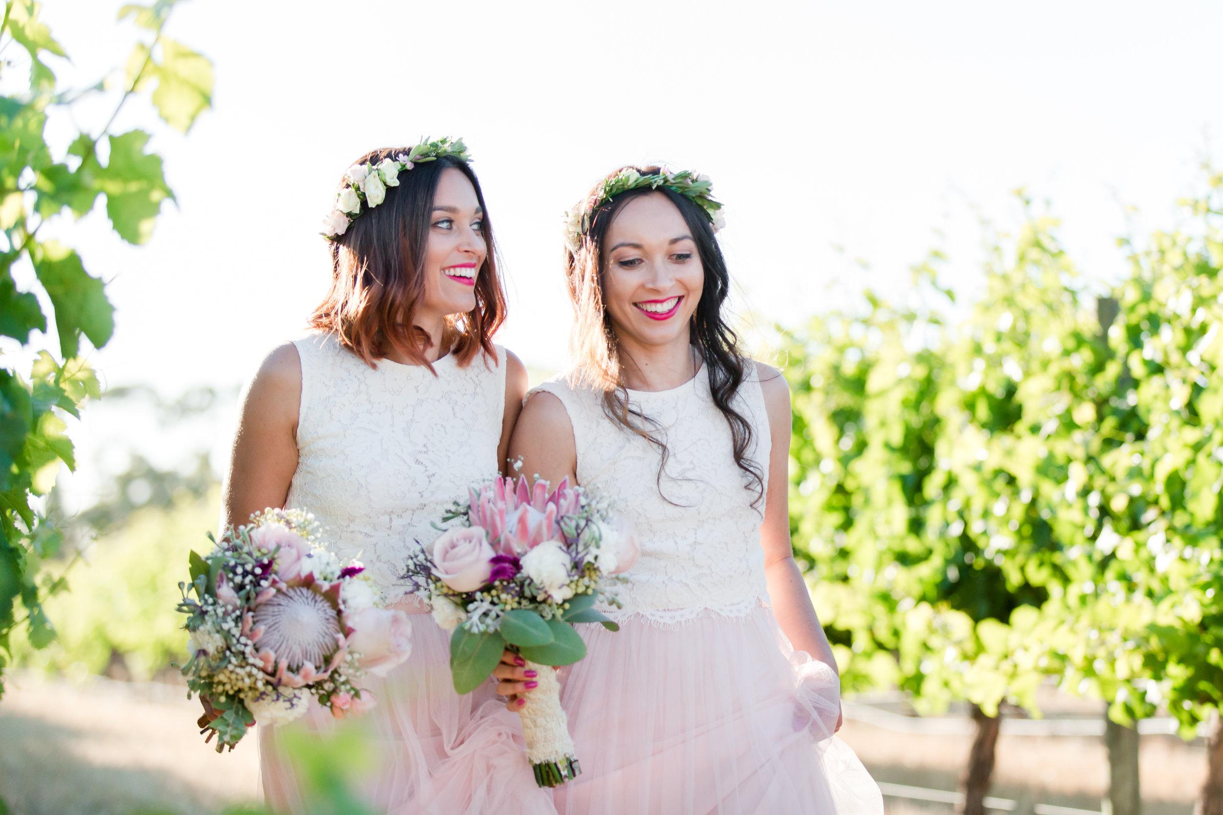 Bridesmaids Laurance Estate Wedding