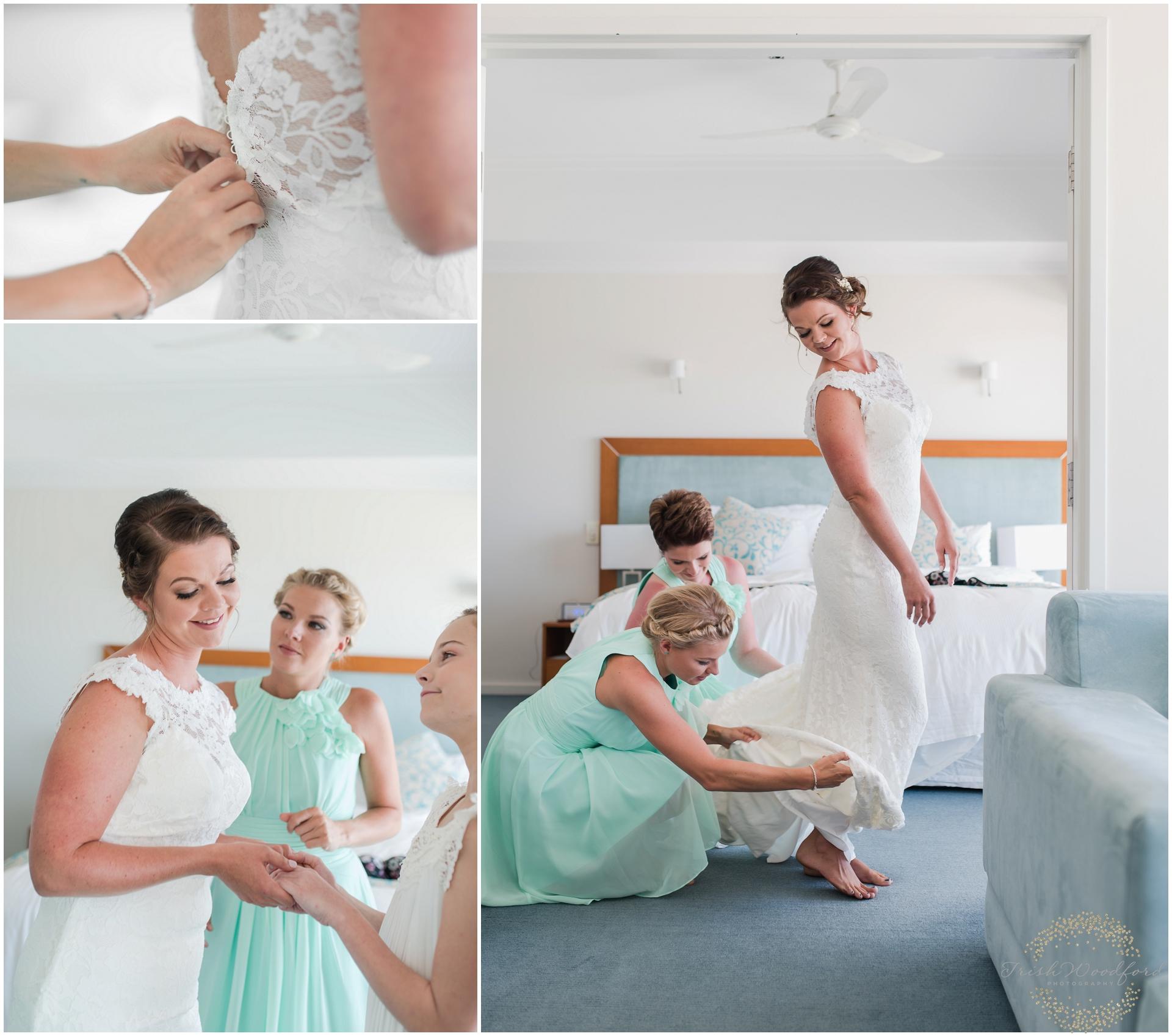 BrideGettingReadySeashellsMandurah