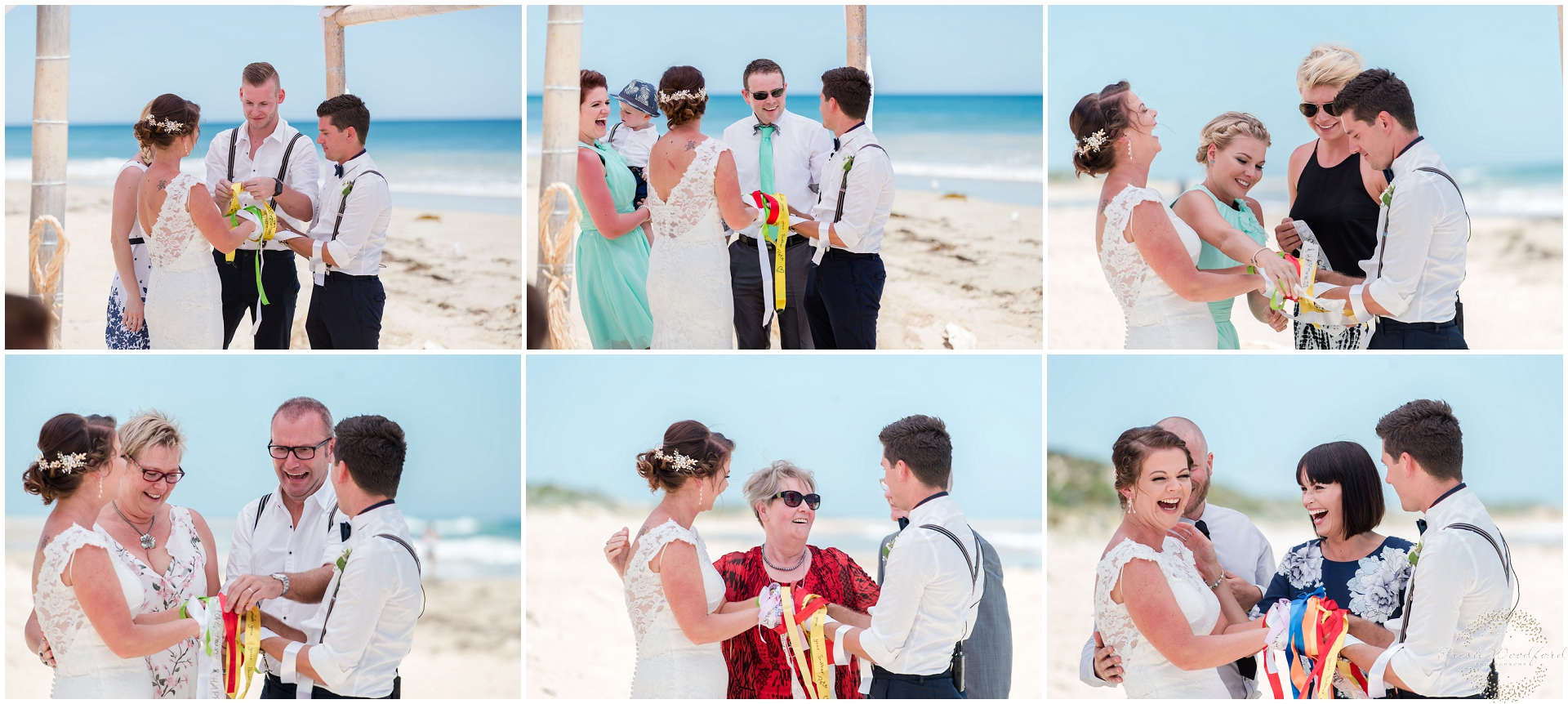 RibbonTyingCeremonyMandurahBeachWedding