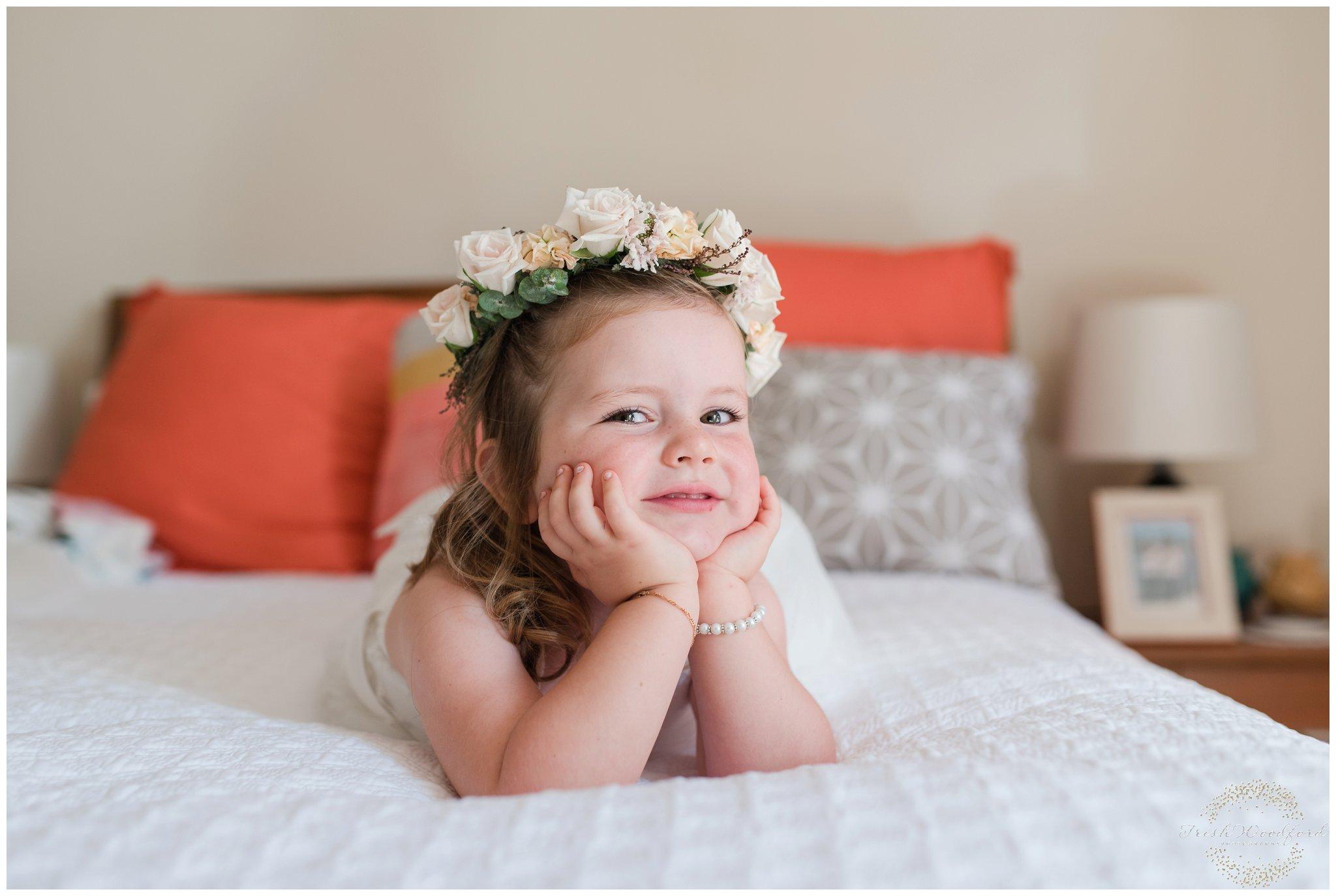 perth wedding photography flowergirl