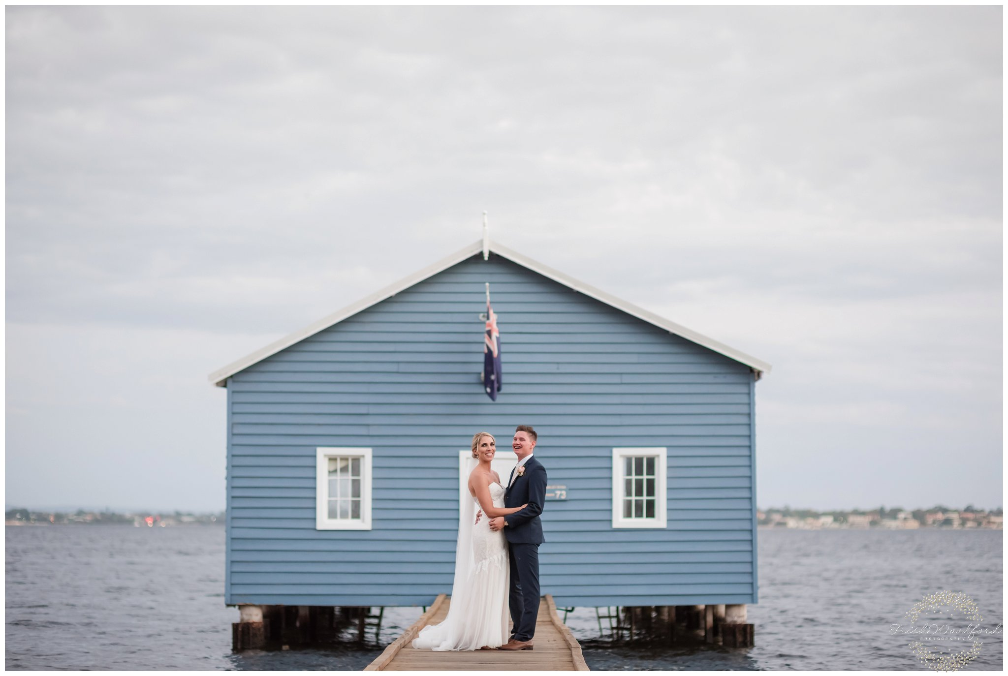 perth wedding photography boatshed