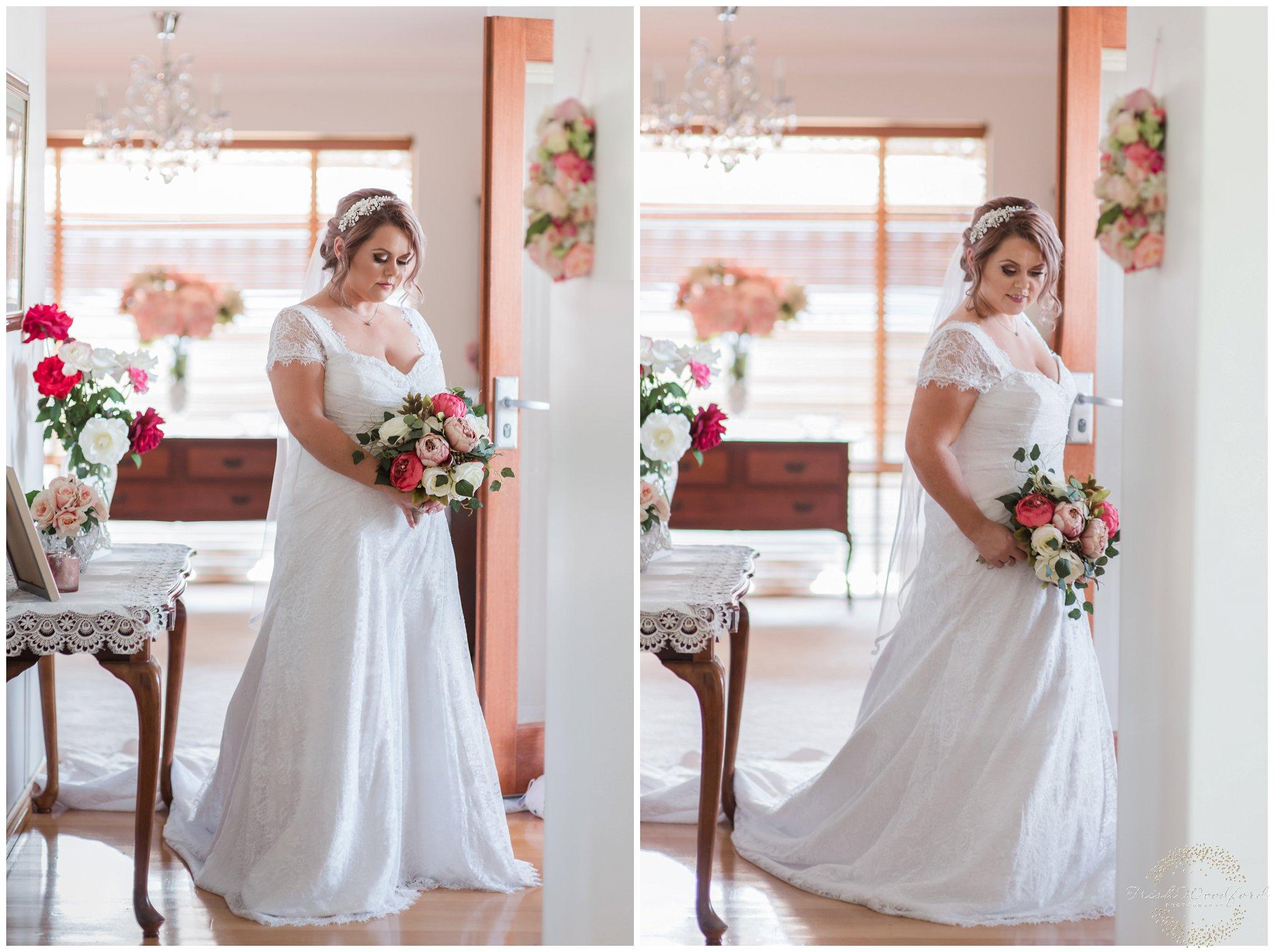 perth bridal portrait