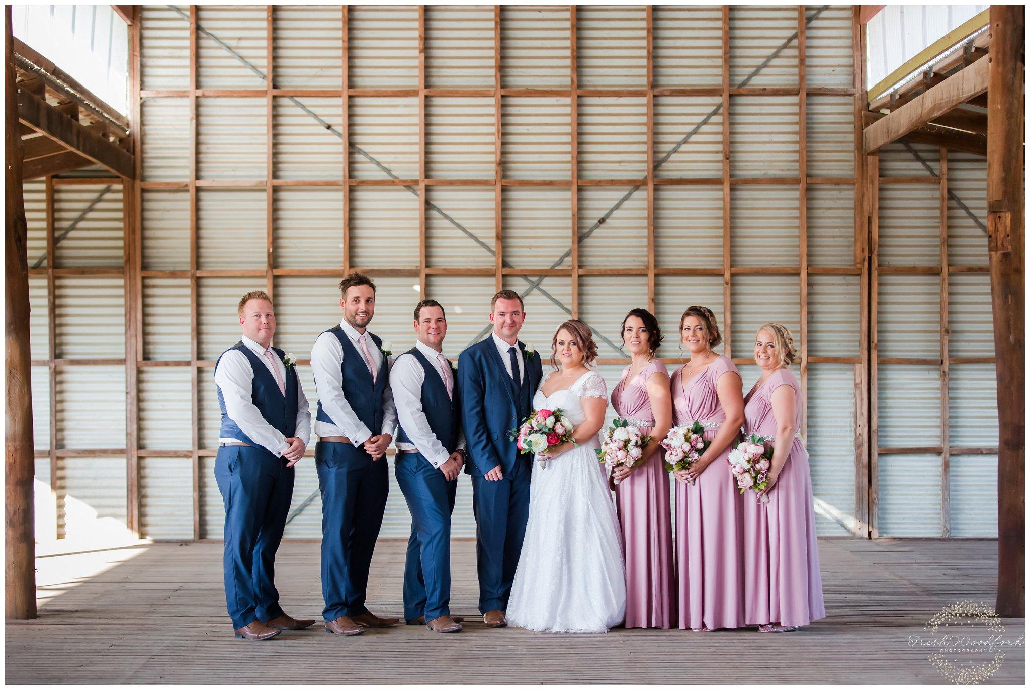 quarry farm shed wedding