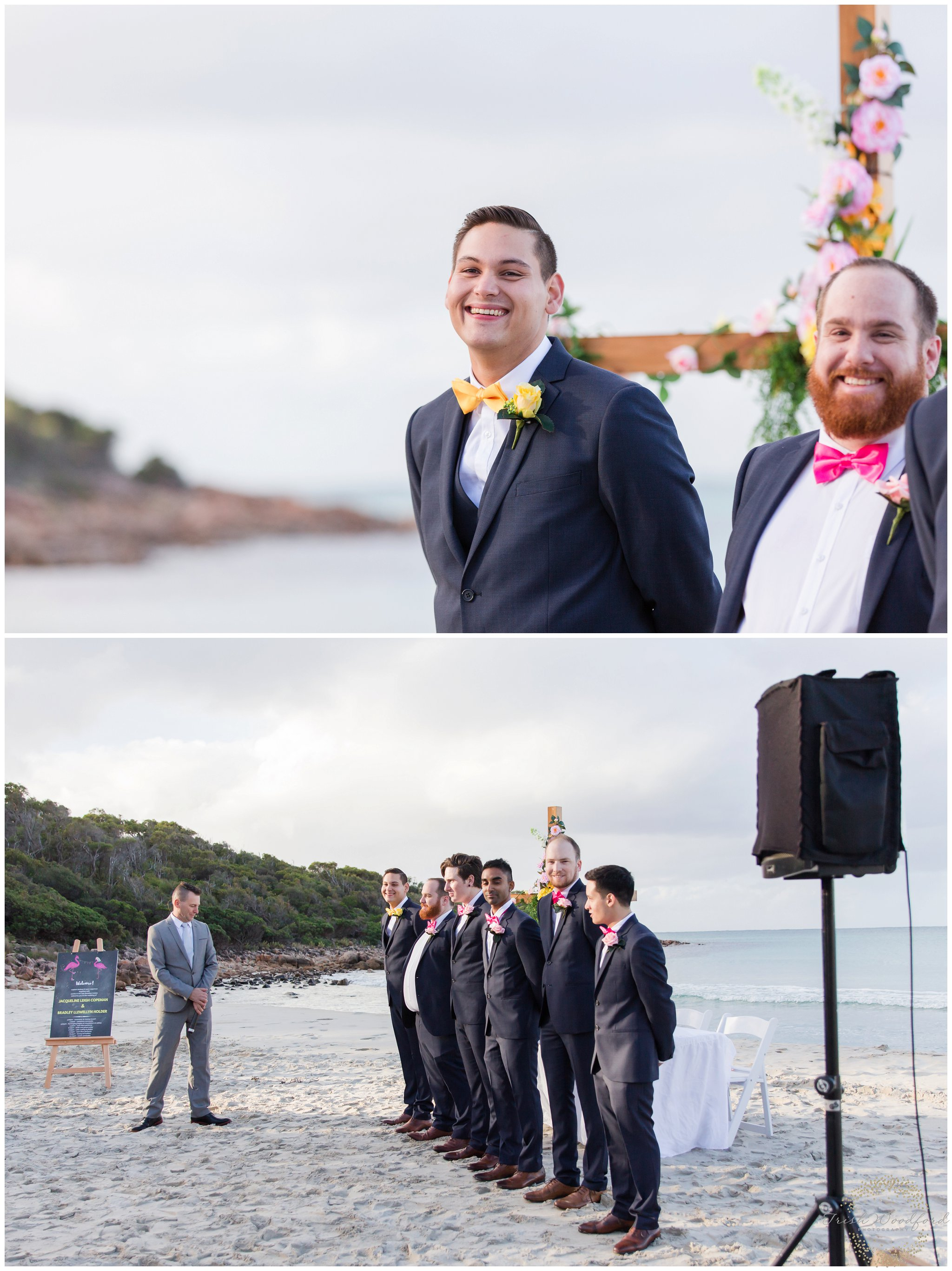 meelup beach south west wedding