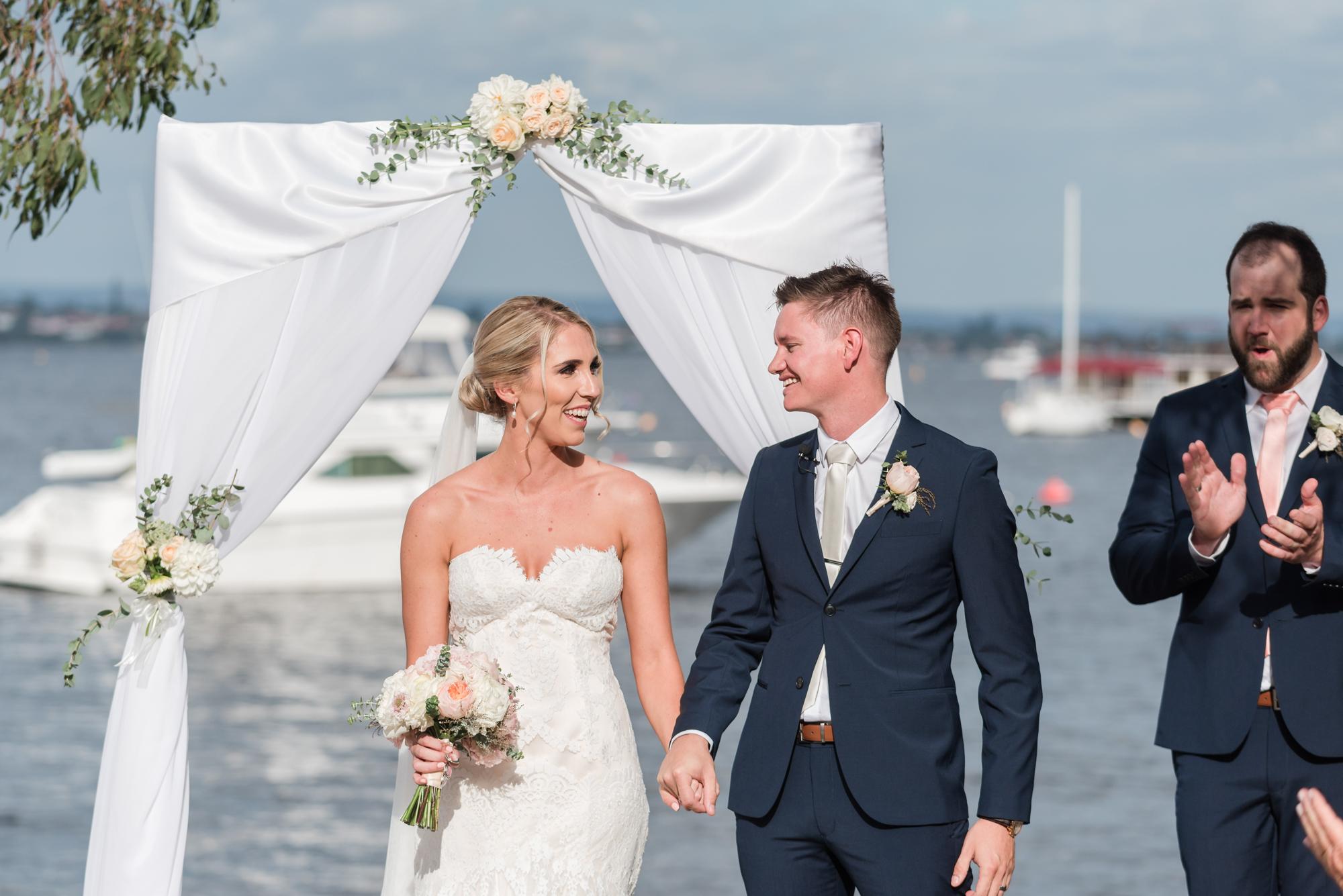 Matilda Bay Wedding Ceremony