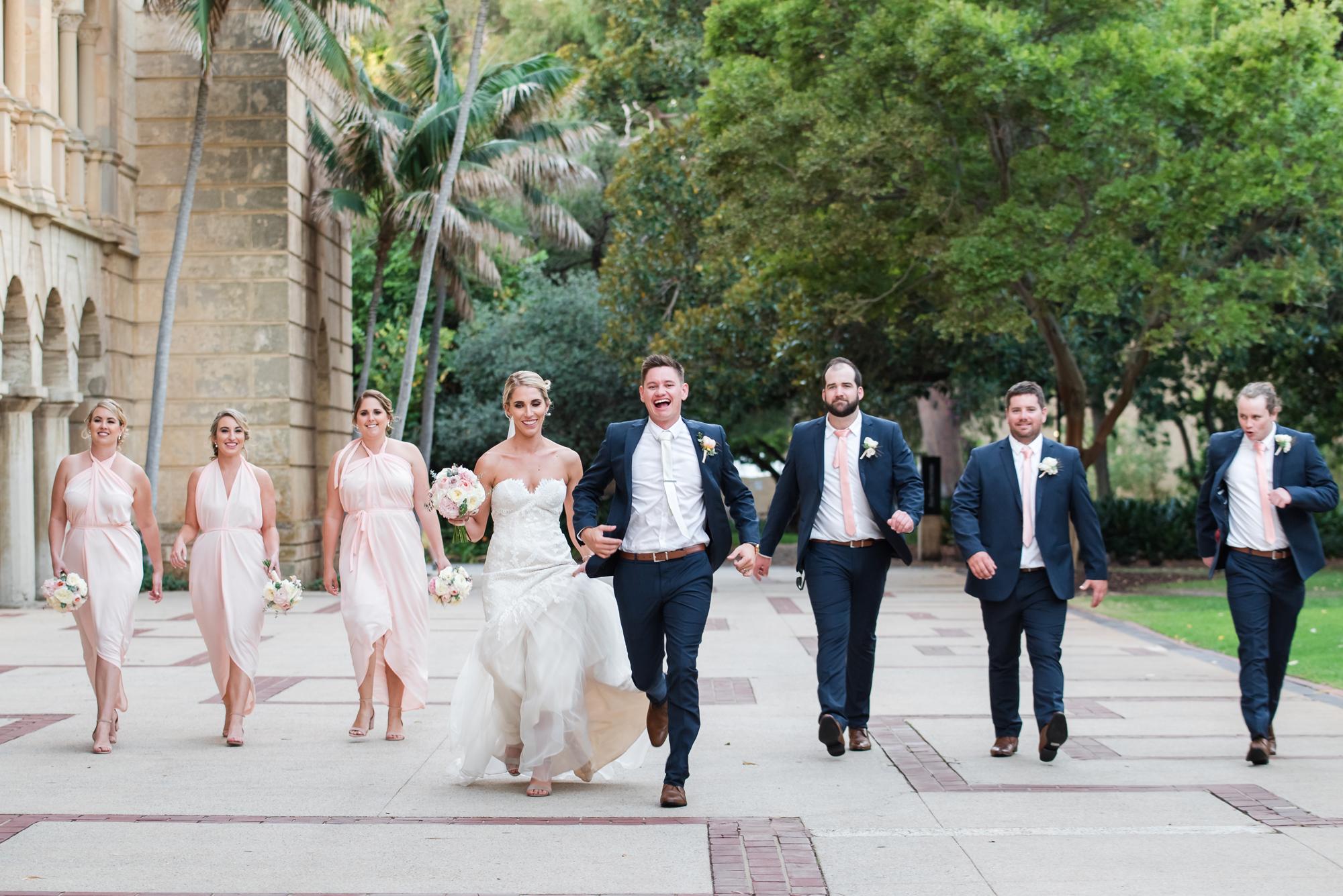 Bridal Party UWA Wedding