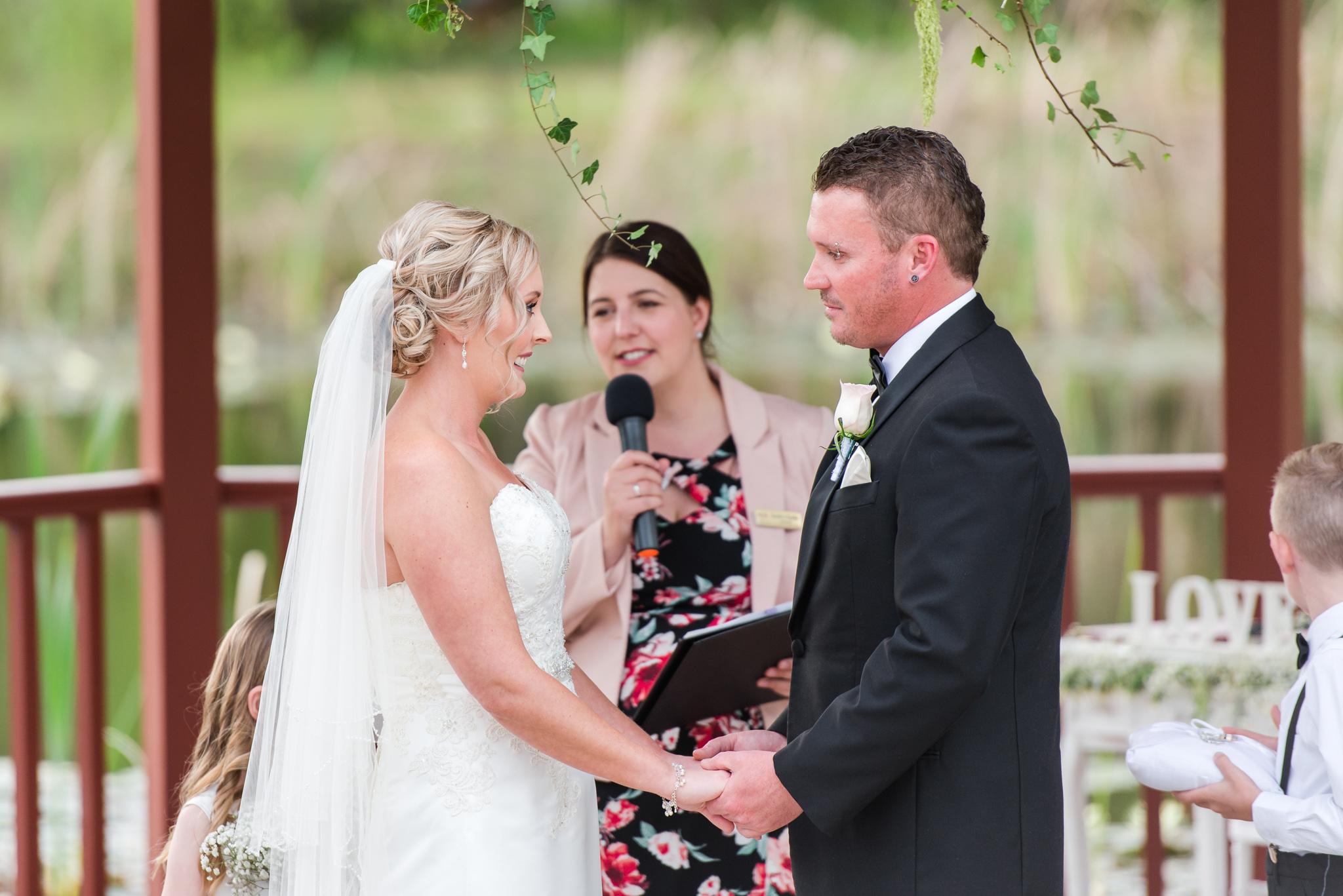 Peel Manor House Wedding Ceremony
