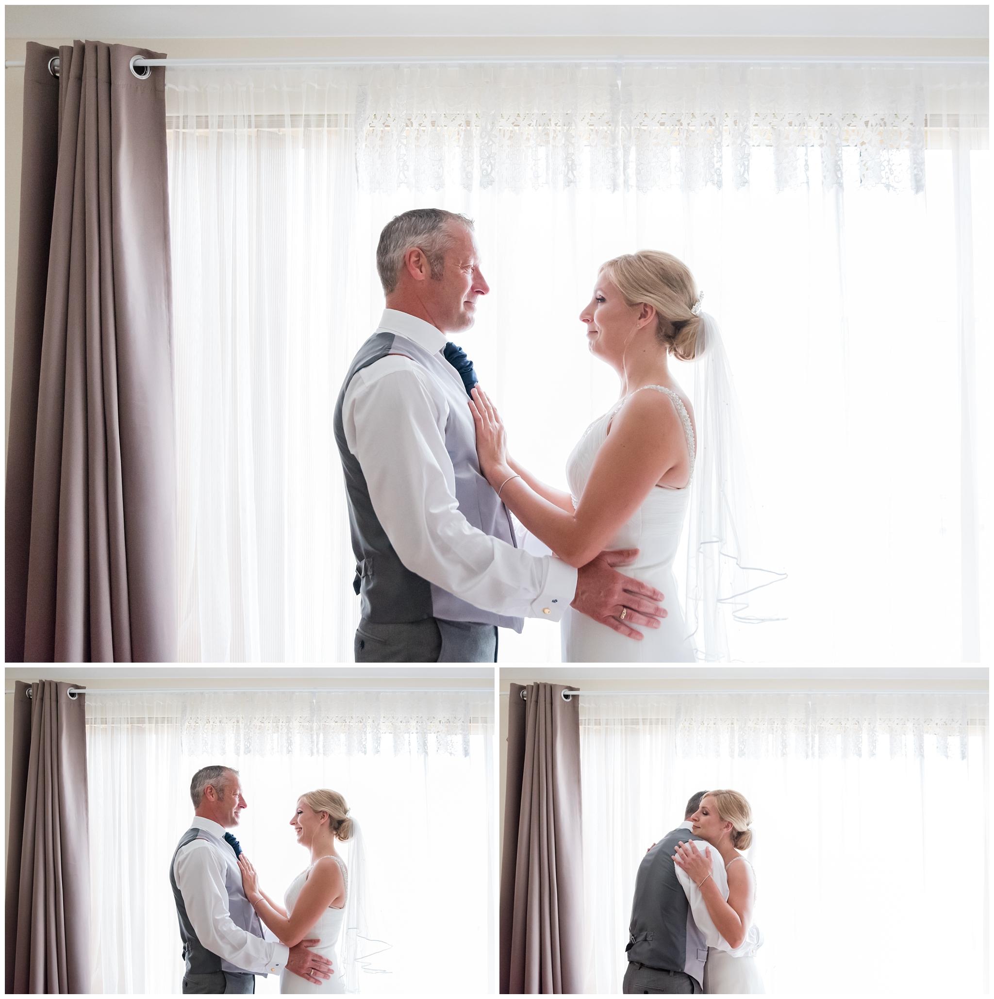 Perth Wedding Bride and Dad