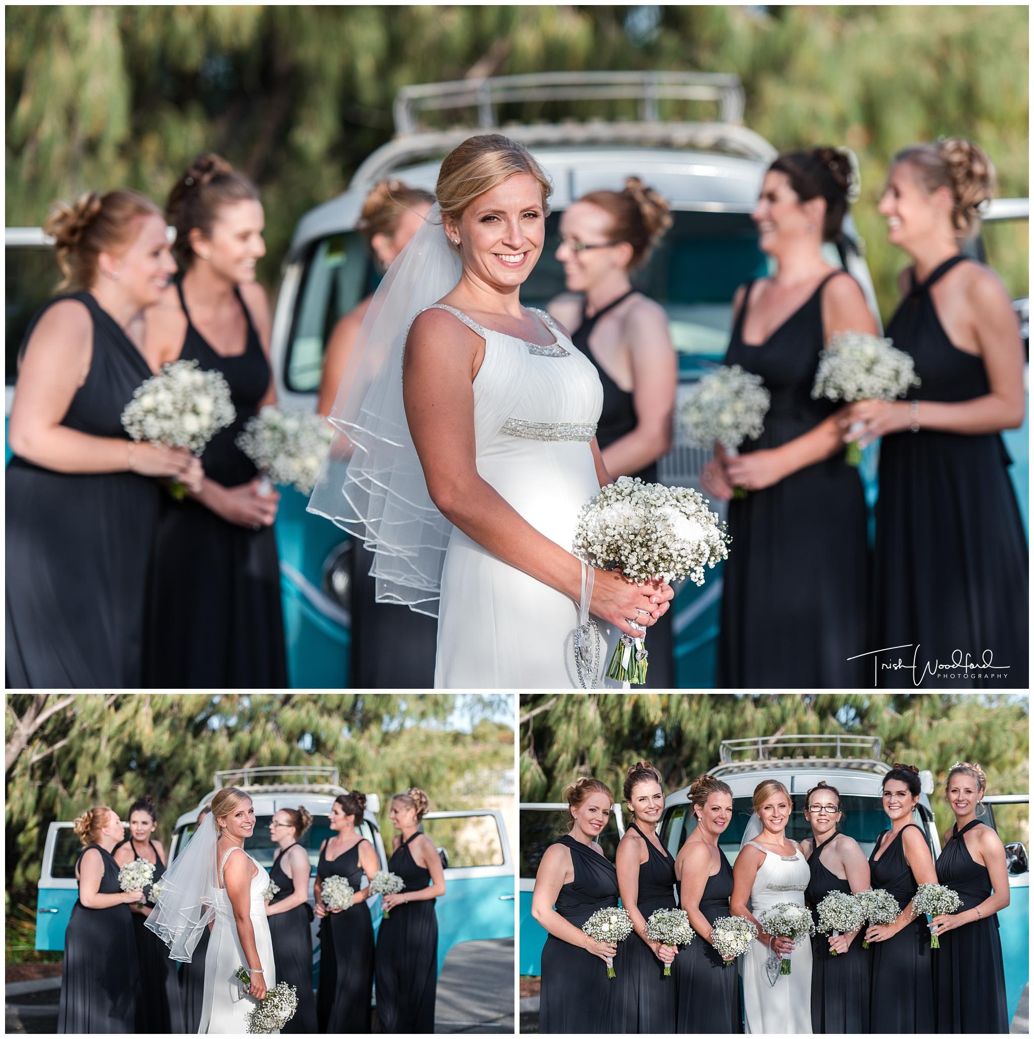 Perth Wedding Photography Bride & Bridesmaids Combi
