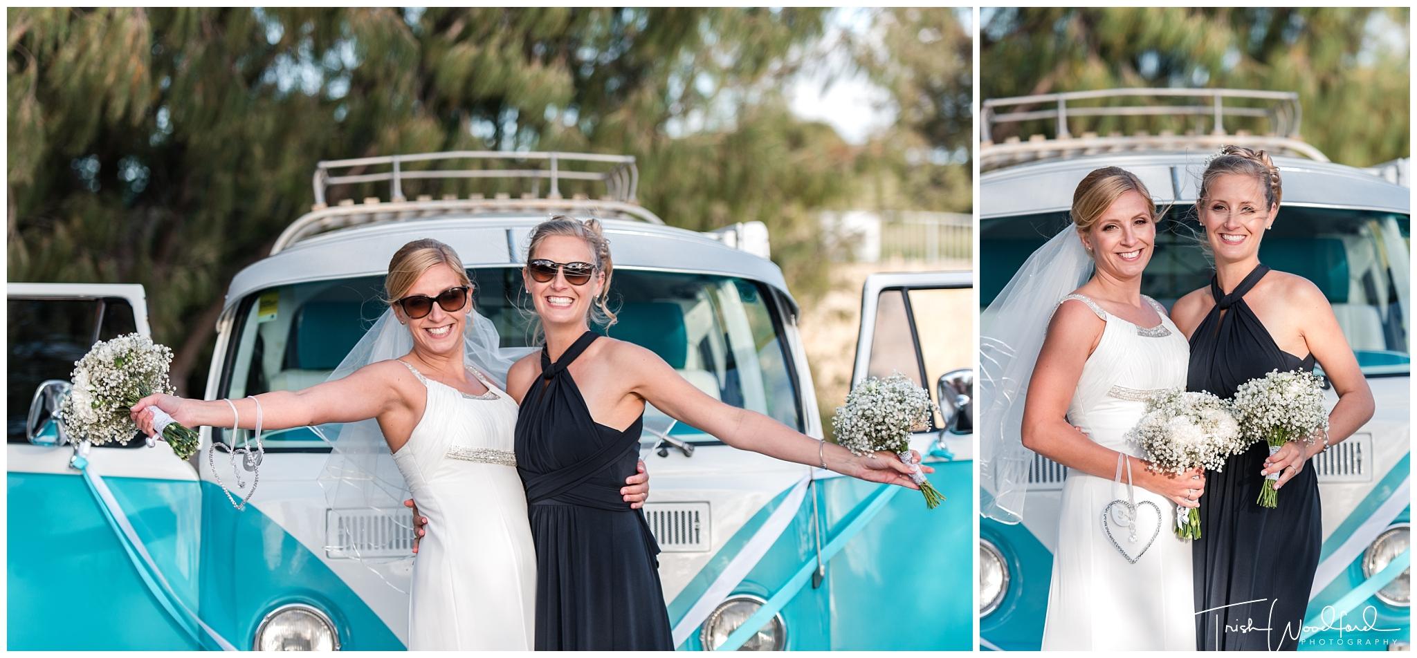 Perth Wedding Photography Bride & Bridesmaid Combi
