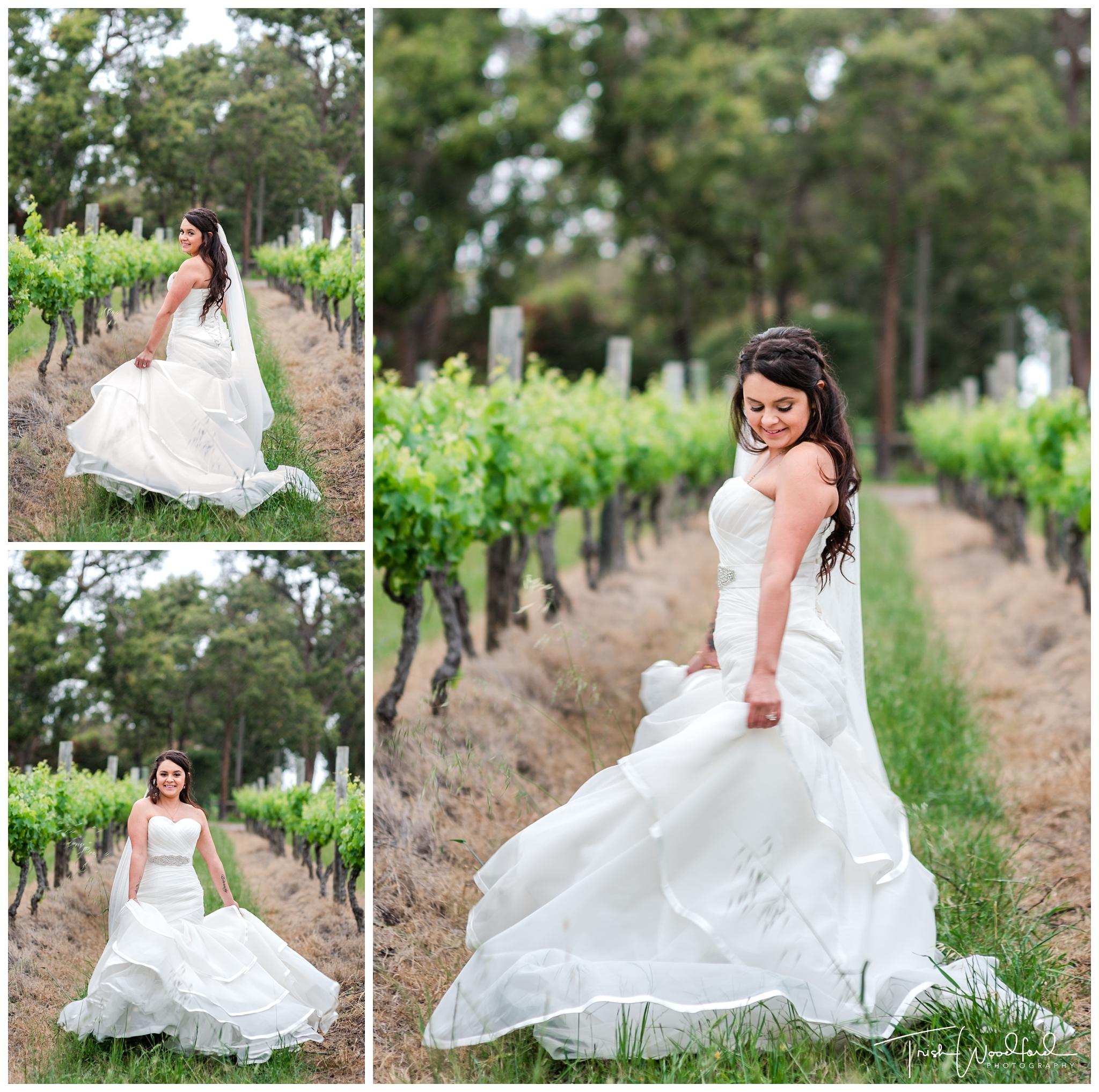 BridePortraitSandalfordWedding
