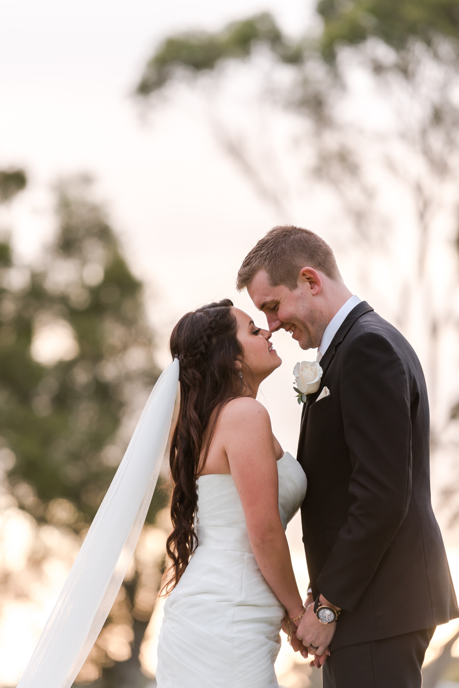 Bride and Groom Sandalford Wines