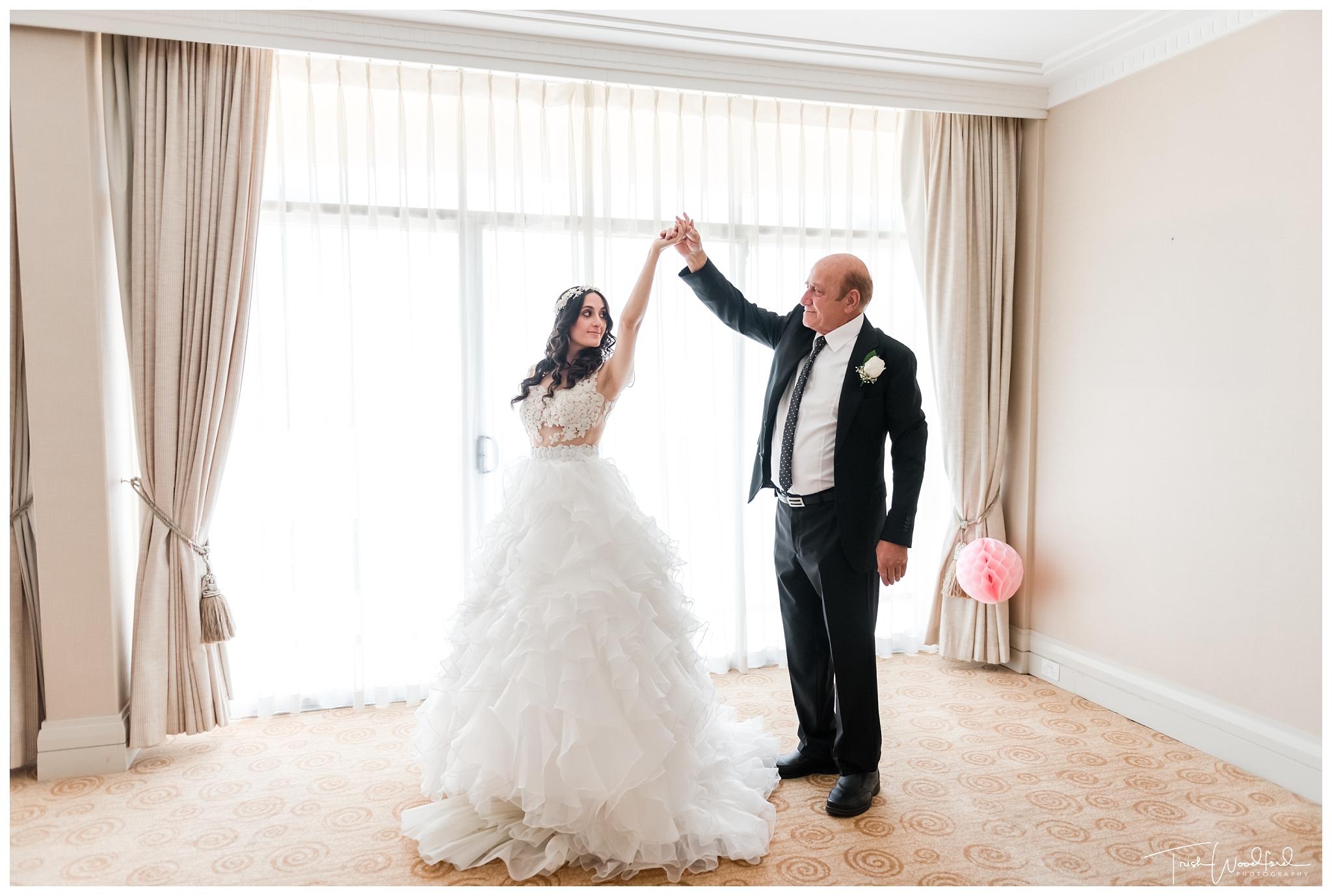 Perth Bride & Dad