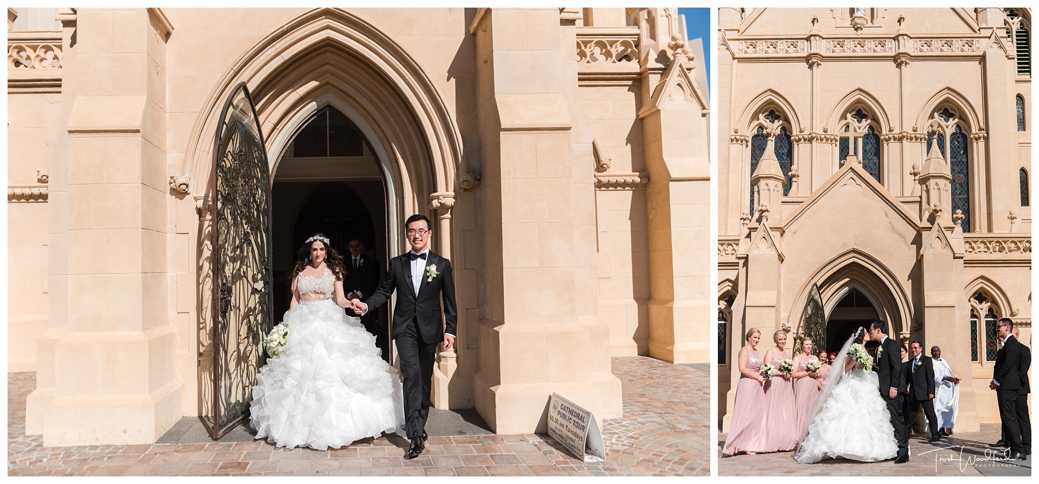 St Mary's Cathedral Perth Wedding