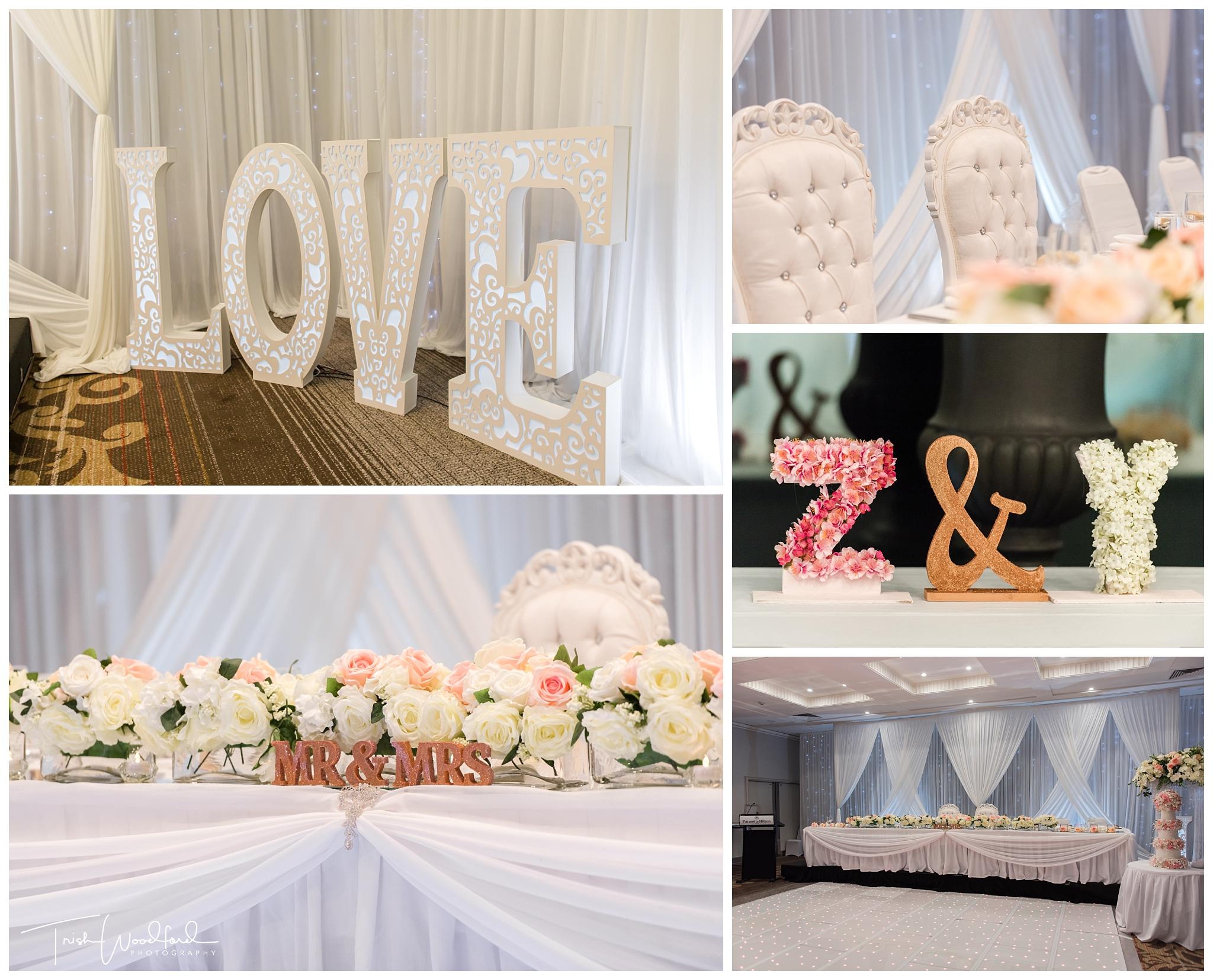 Parmelia Hilton Perth Wedding Styling