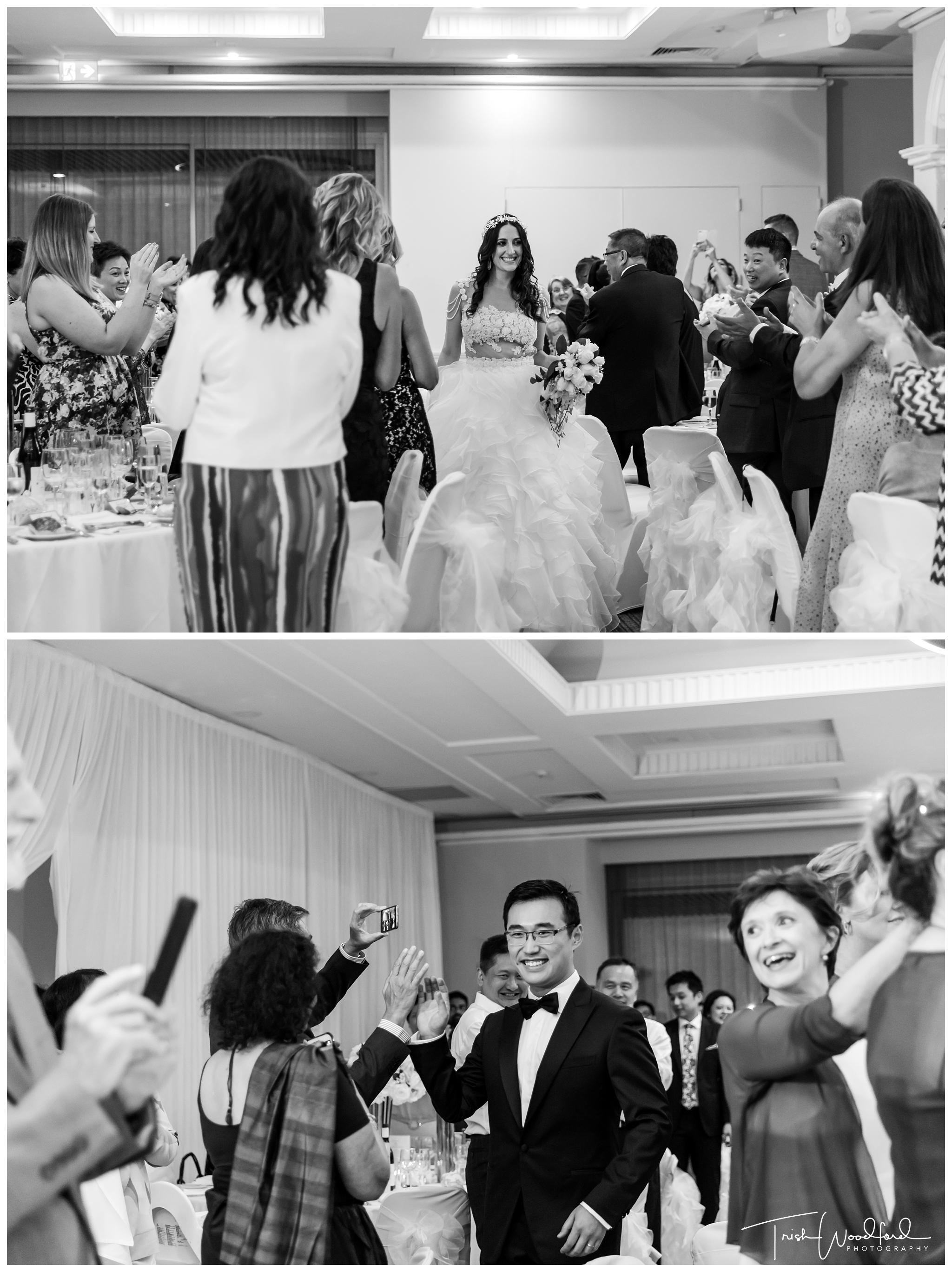 Parmelia Hilton Wedding Reception