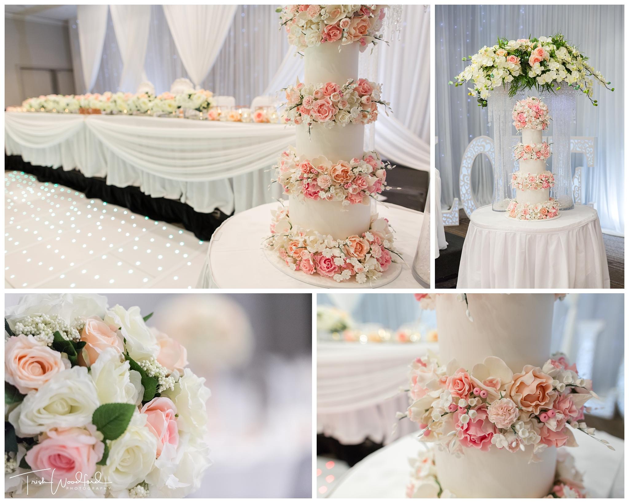 Parmelia Hilton Perth Wedding Cake