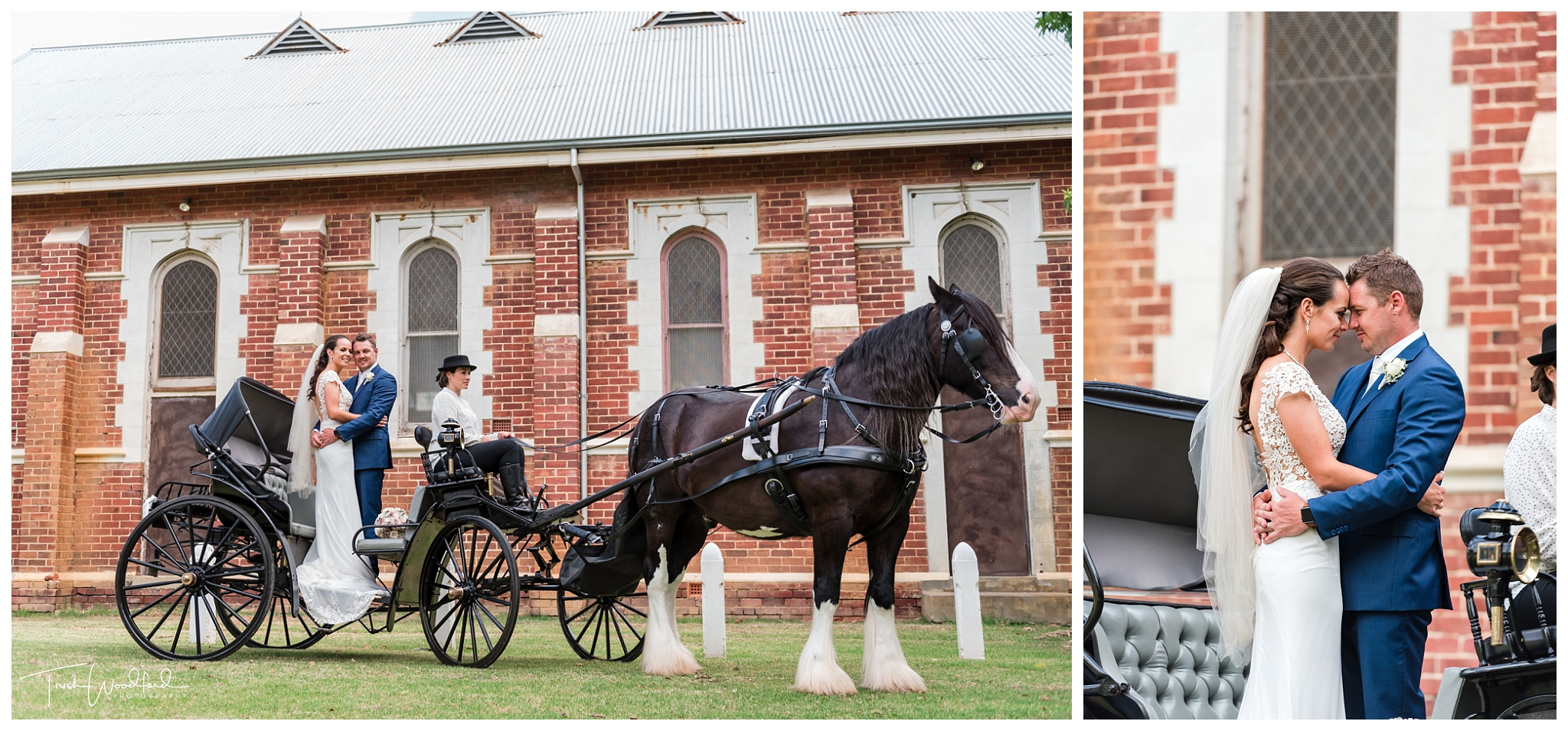 Charming Carriages Swan Valley Wedding