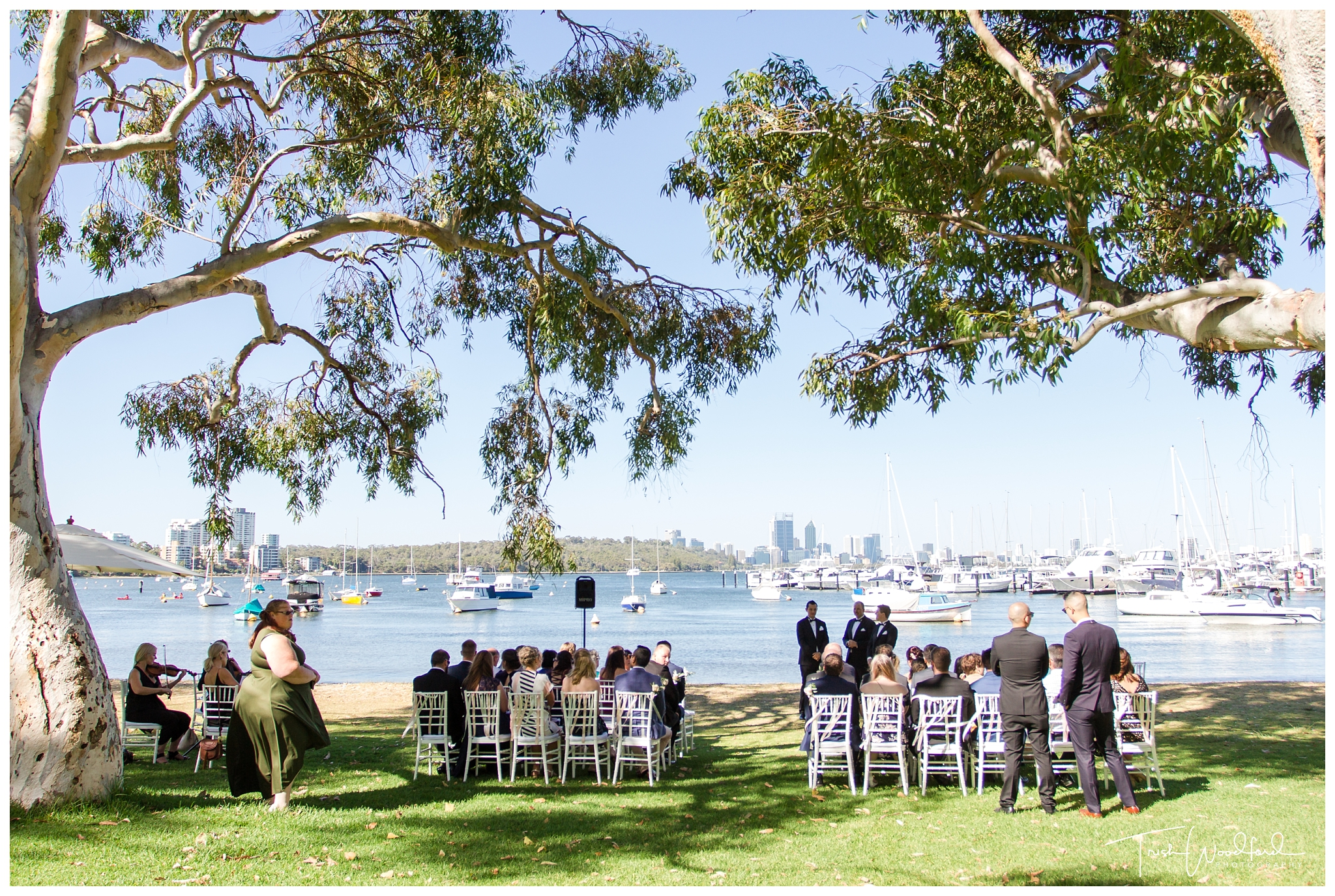 Matilda Bay Wedding Ceremony