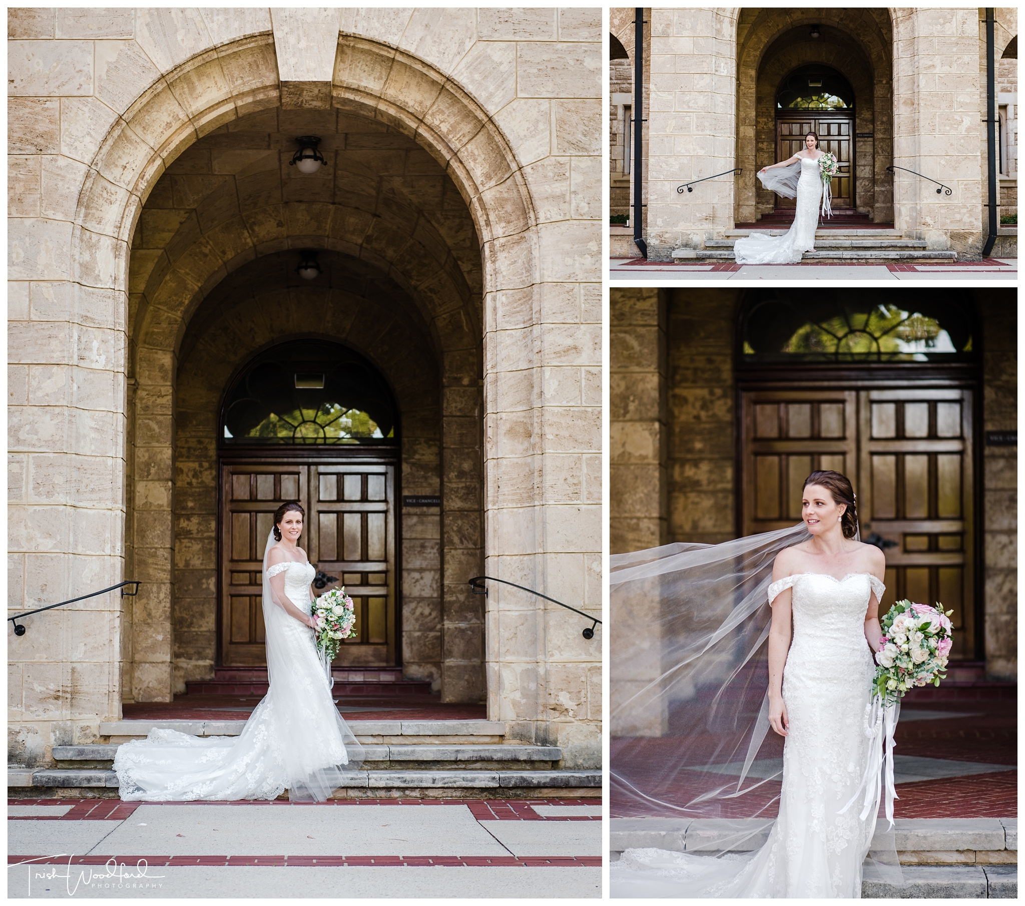 UWA Perth Bridal Portrait