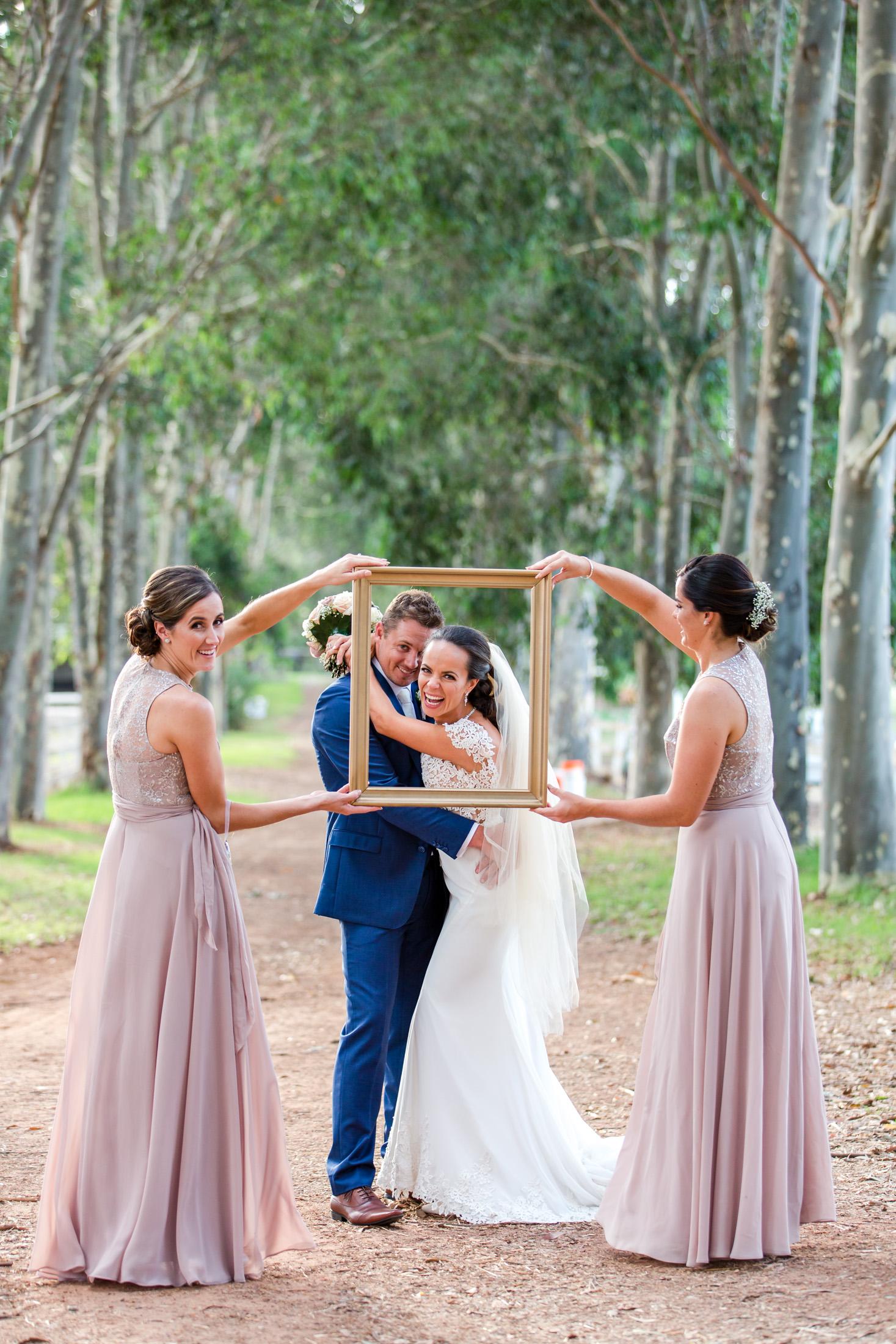 Bride and Groom Brookleigh Estate