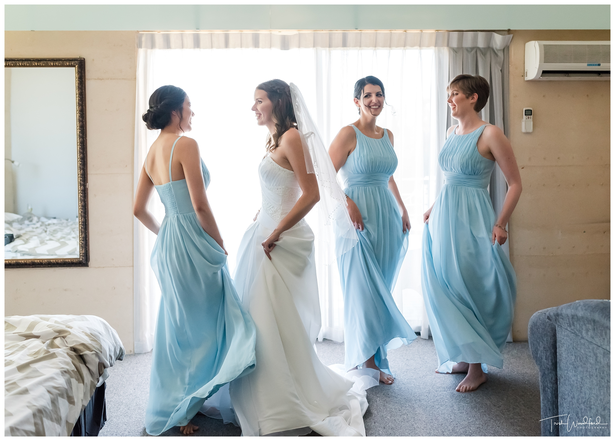 Yanchep Wedding Bride & Bridesmaids