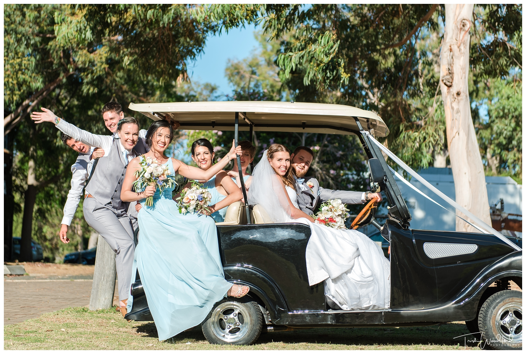 Yanchep Wedding Bridal Party